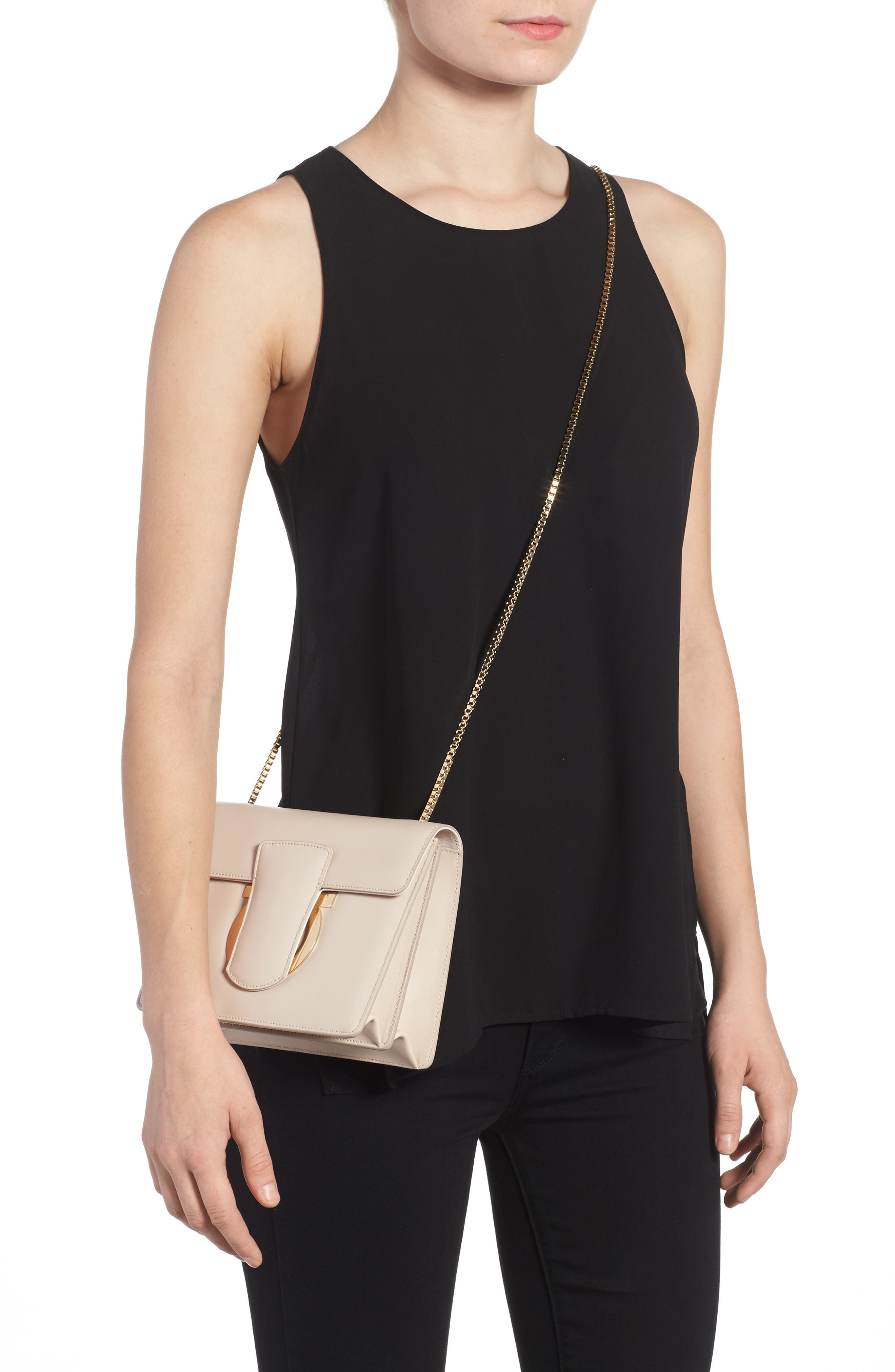 Small Thalia Leather Crossbody Bag,                             Alternate thumbnail 2, color,                             650