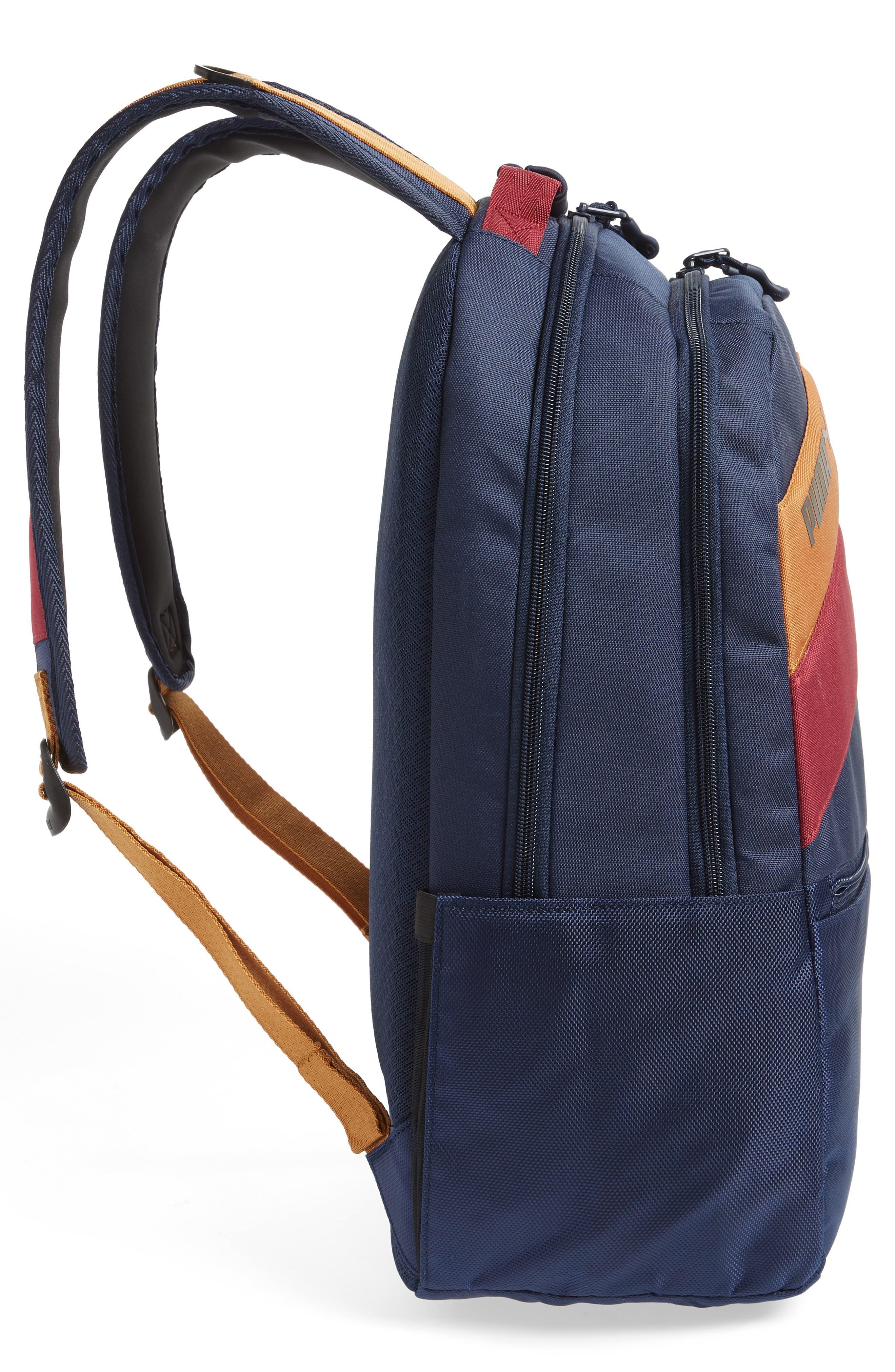 PUMA,                             Ready Backpack,                             Alternate thumbnail 5, color,                             NAVY