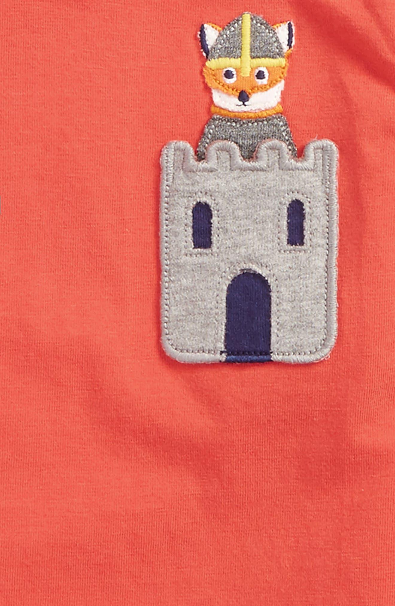 Adventure Pocket T-Shirt,                             Alternate thumbnail 4, color,