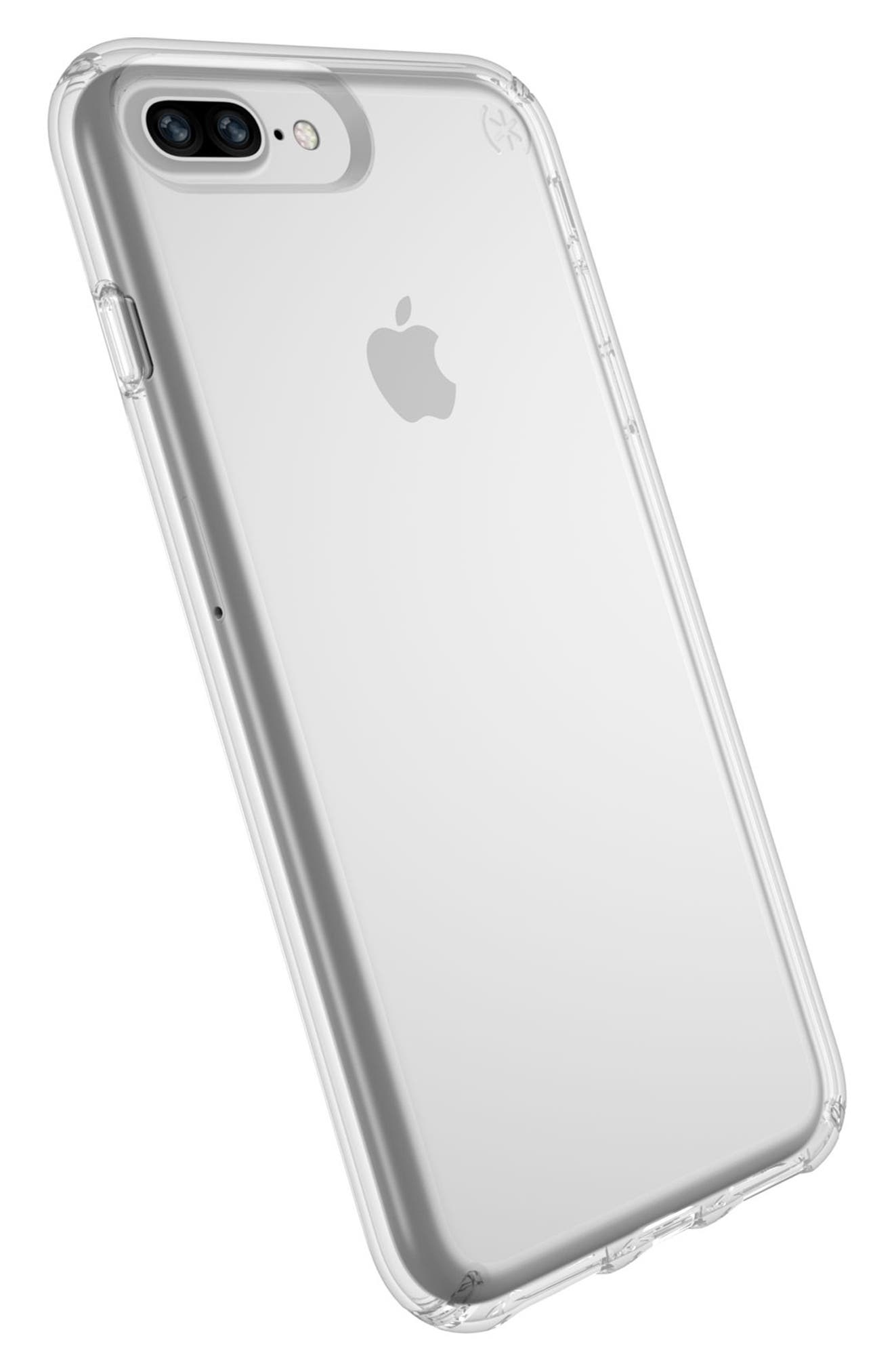 iPhone 6/6s/7/8 Plus Case,                             Alternate thumbnail 8, color,                             CLEAR/ CLEAR