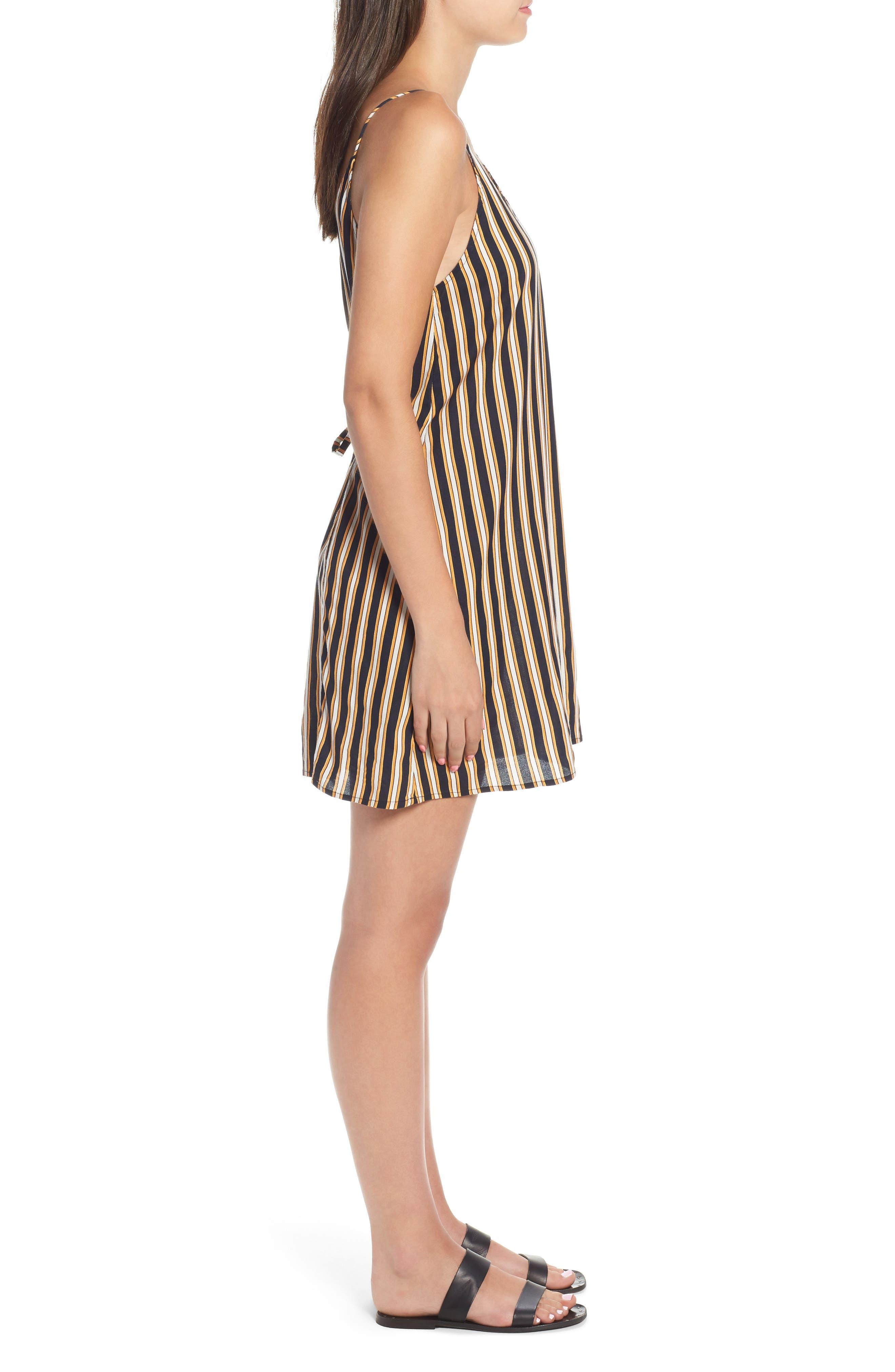 Stoney Stripe Slipdress,                             Alternate thumbnail 3, color,