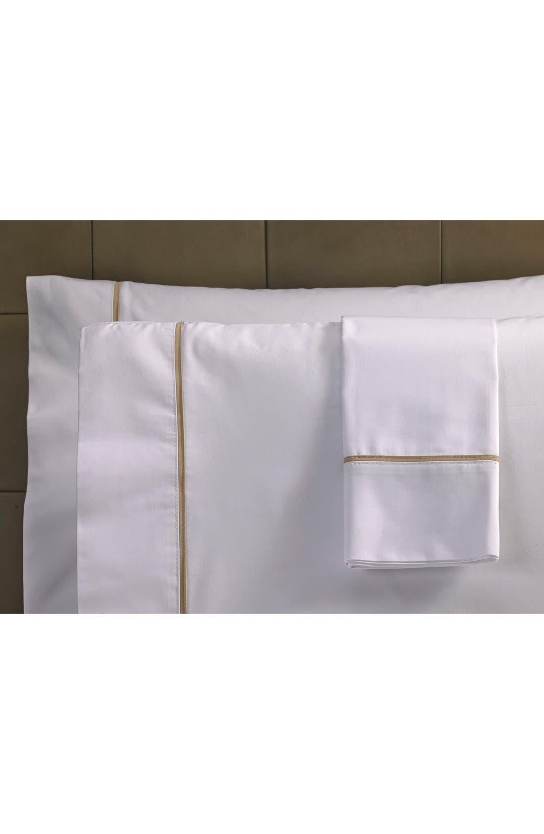 Ultra Luxe 600 Thread Count Pillowcase,                             Main thumbnail 1, color,                             100
