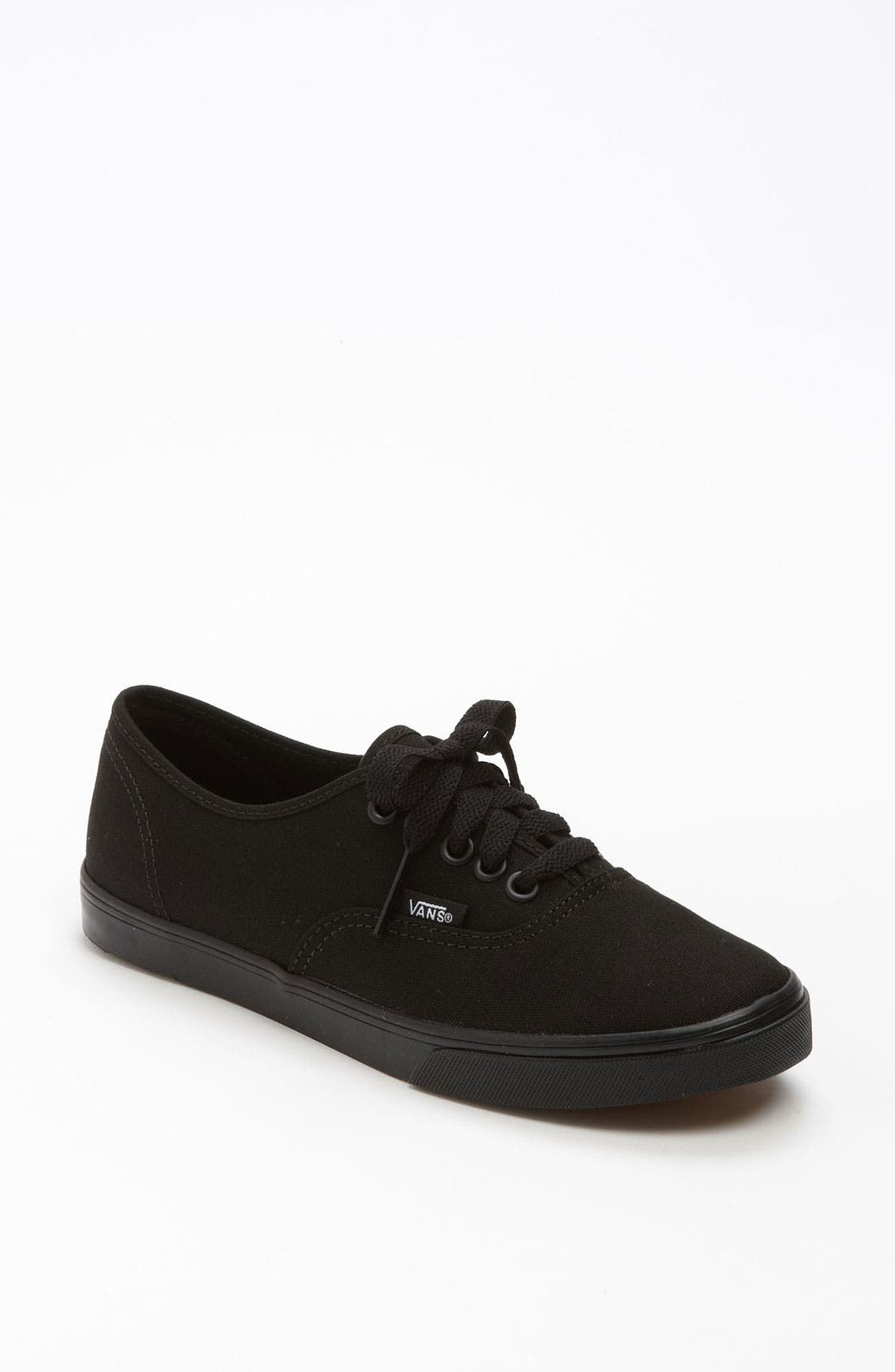 'Authentic - Lo Pro' Sneaker,                             Main thumbnail 1, color,                             BLACK