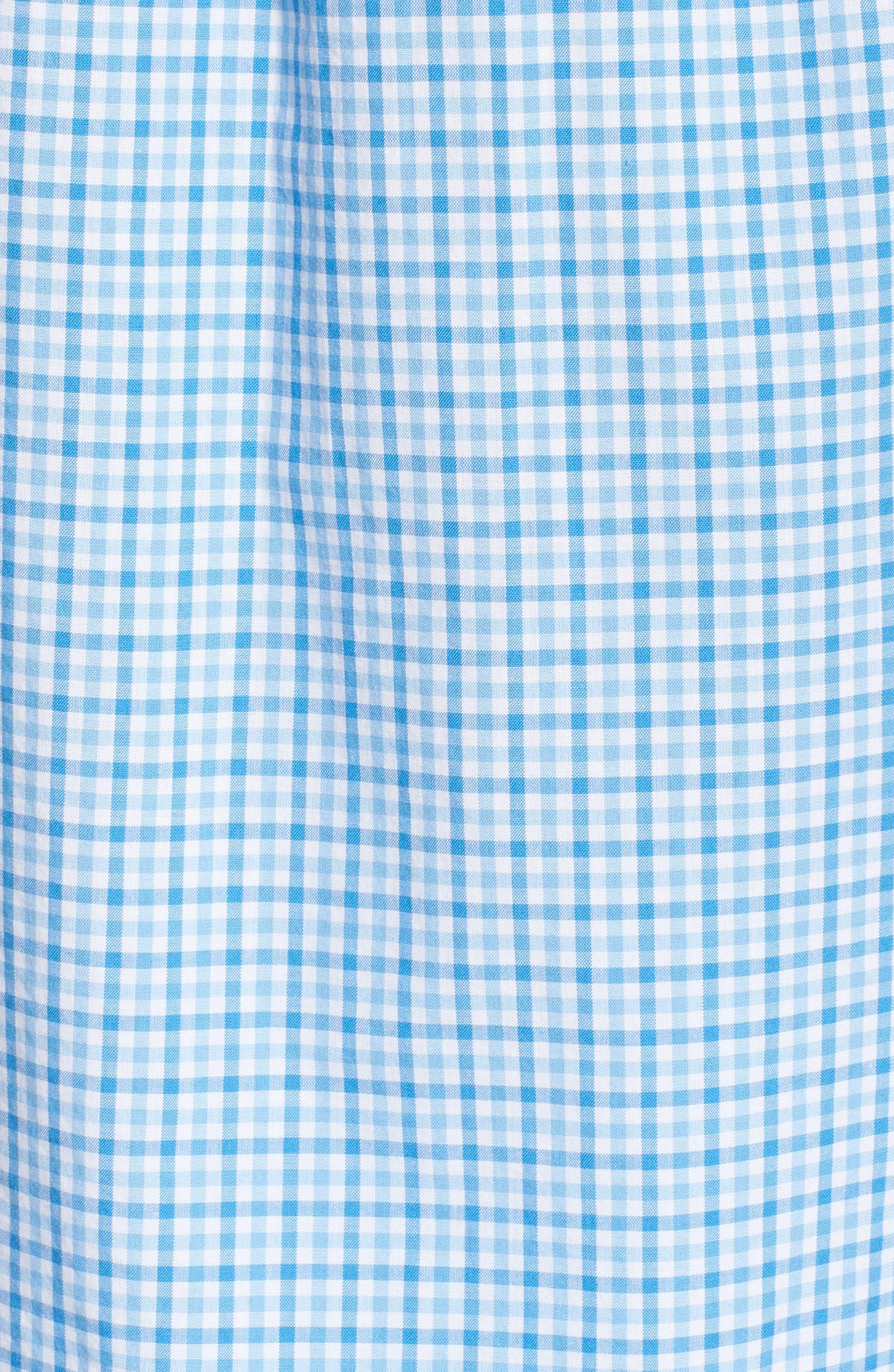 Tipsy Turtle Check Slim Fit Sport Shirt,                             Alternate thumbnail 14, color,