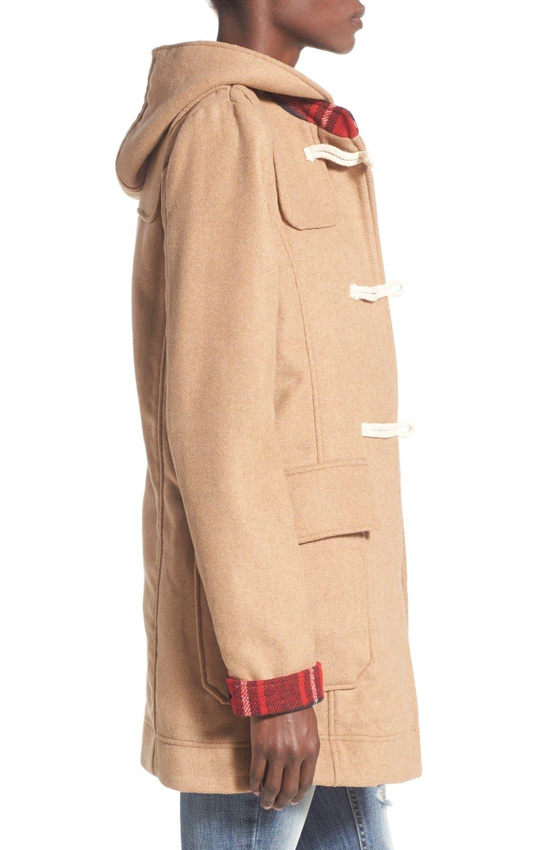 THREAD & SUPPLY,                             'Waldorf' Toggle Jacket,                             Alternate thumbnail 3, color,                             261