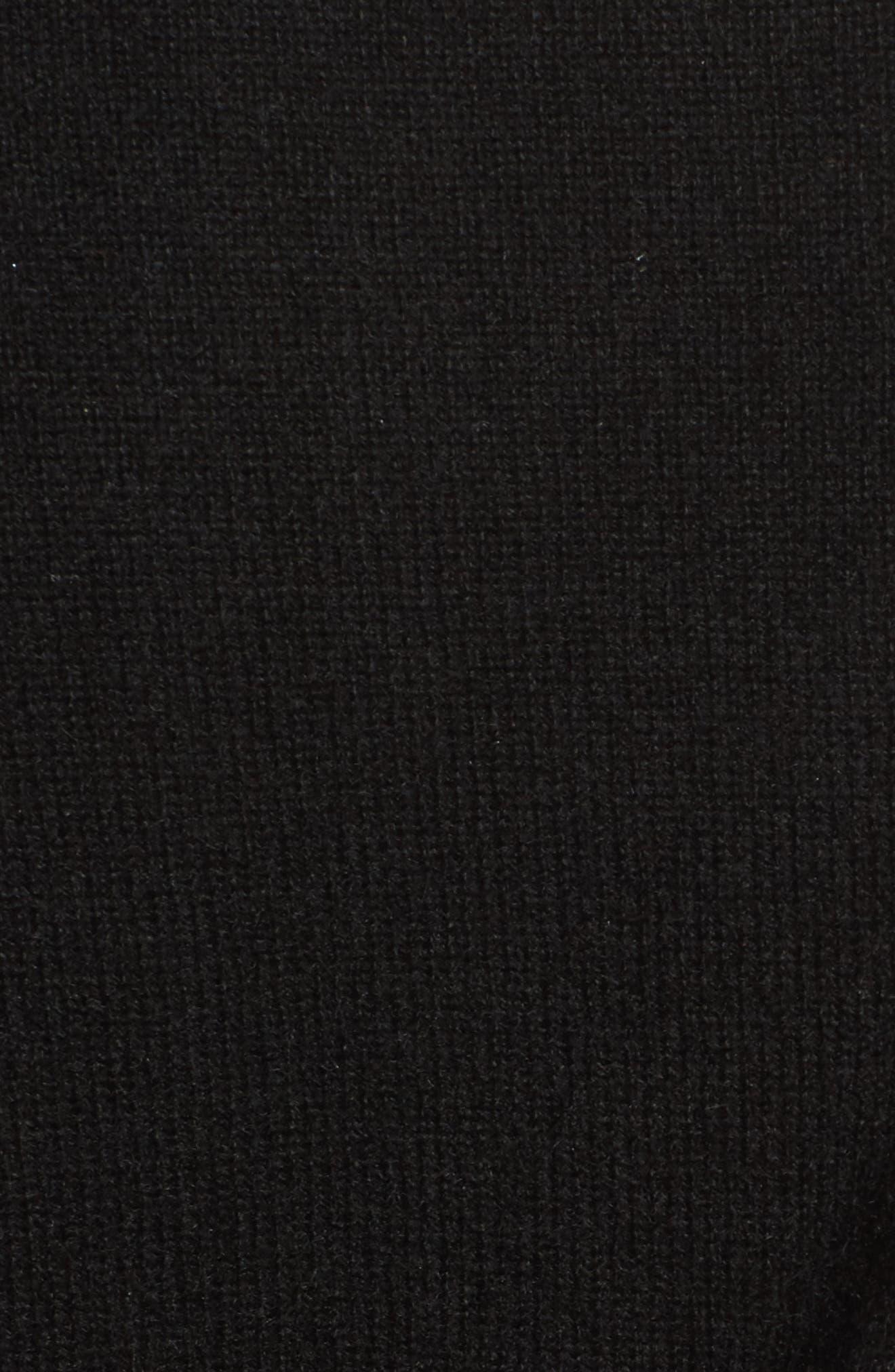 Cashmere Sweater,                             Alternate thumbnail 5, color,                             001