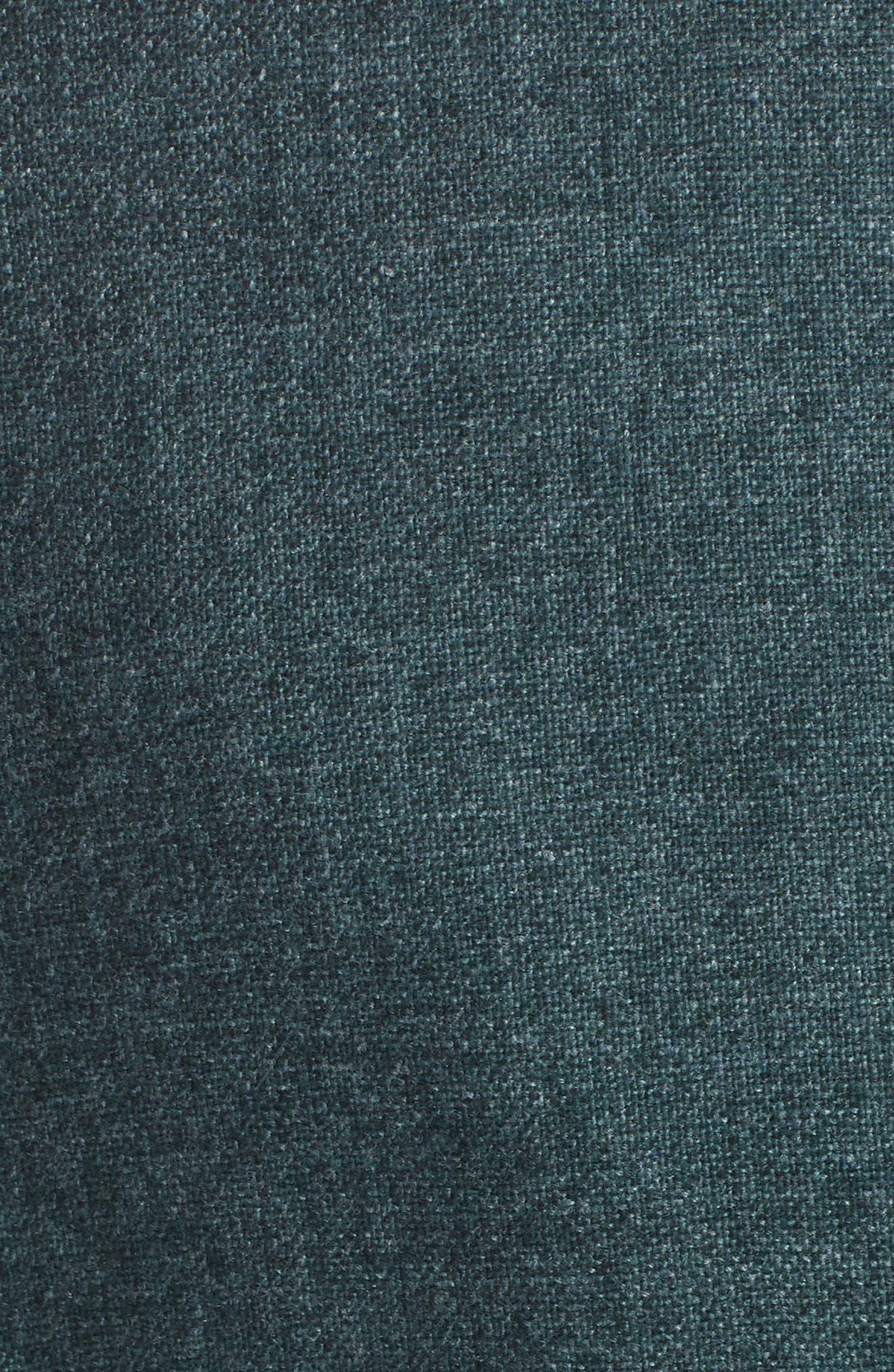 Trim Fit Cashmere Blend Blazer,                             Alternate thumbnail 6, color,                             GREEN