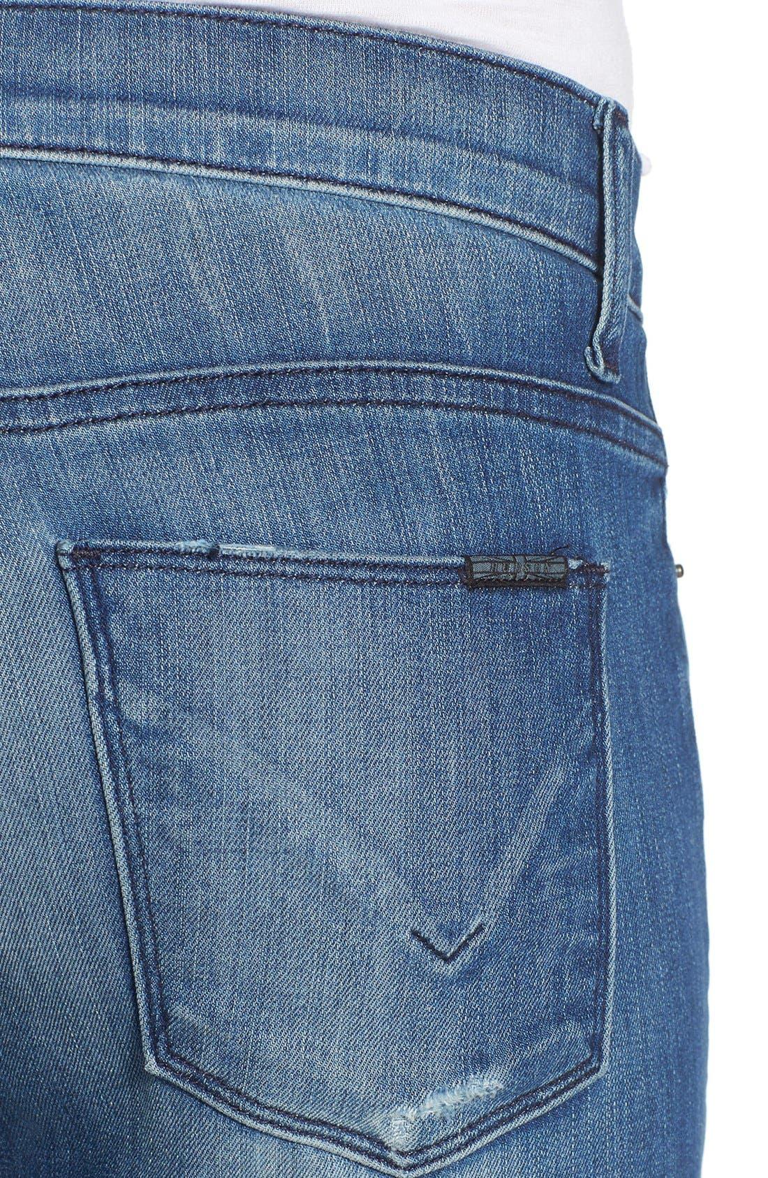 'Nico' Super Skinny Jeans,                             Alternate thumbnail 10, color,