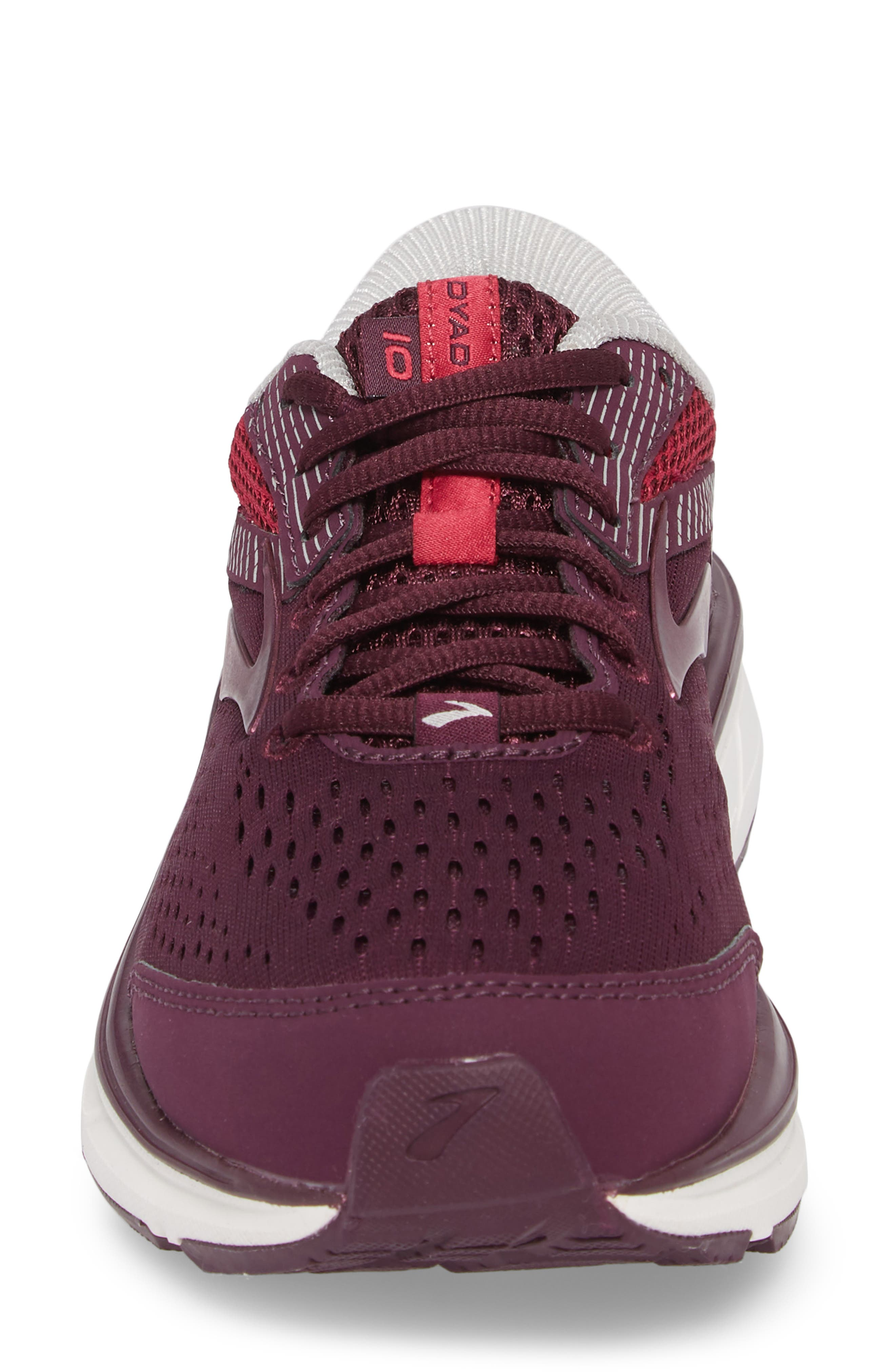 Dyad 10 Running Shoe,                             Alternate thumbnail 4, color,                             PURPLE/ PINK/ GREY