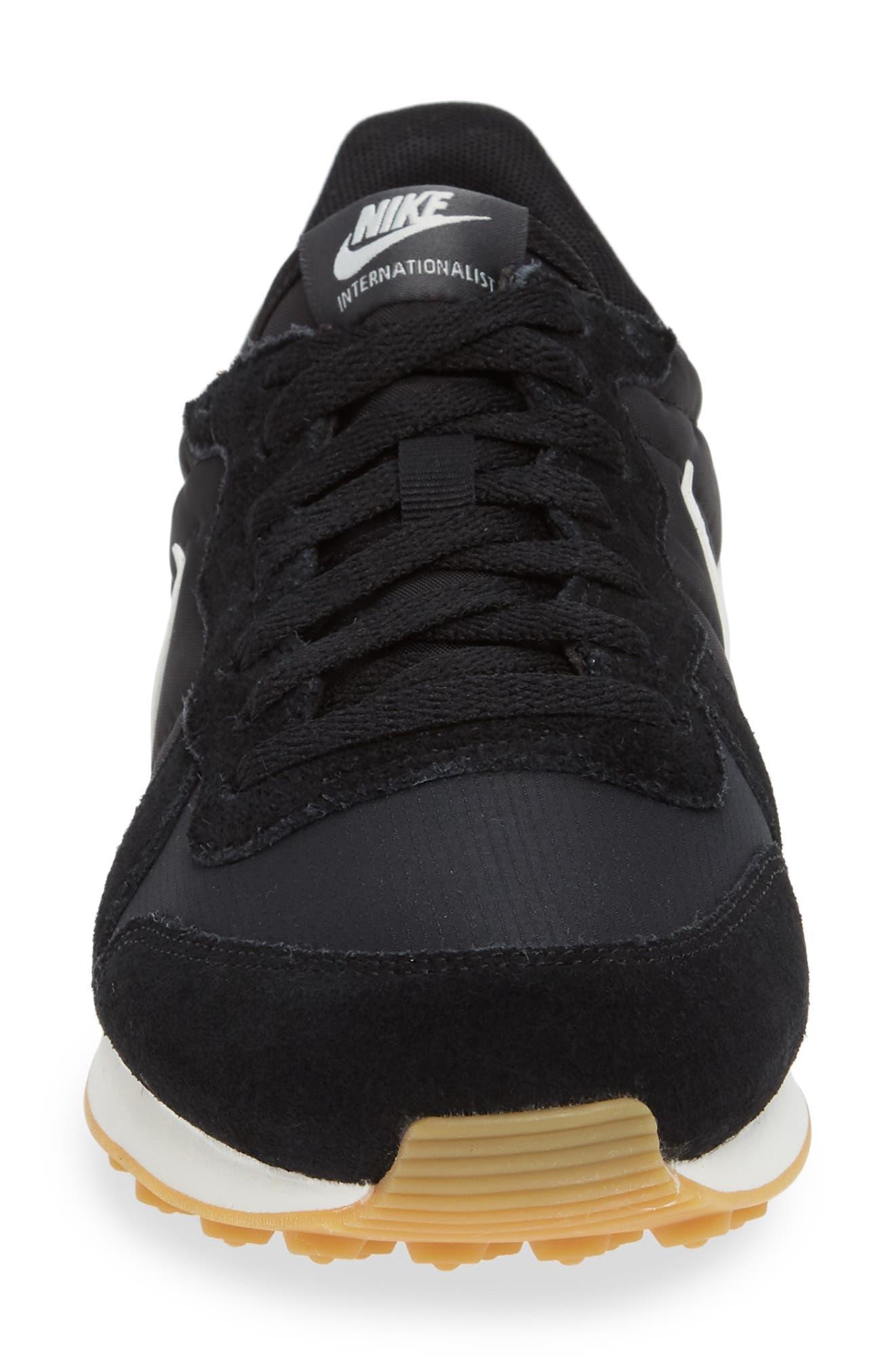 'Internationalist' Sneaker,                             Alternate thumbnail 4, color,                             001
