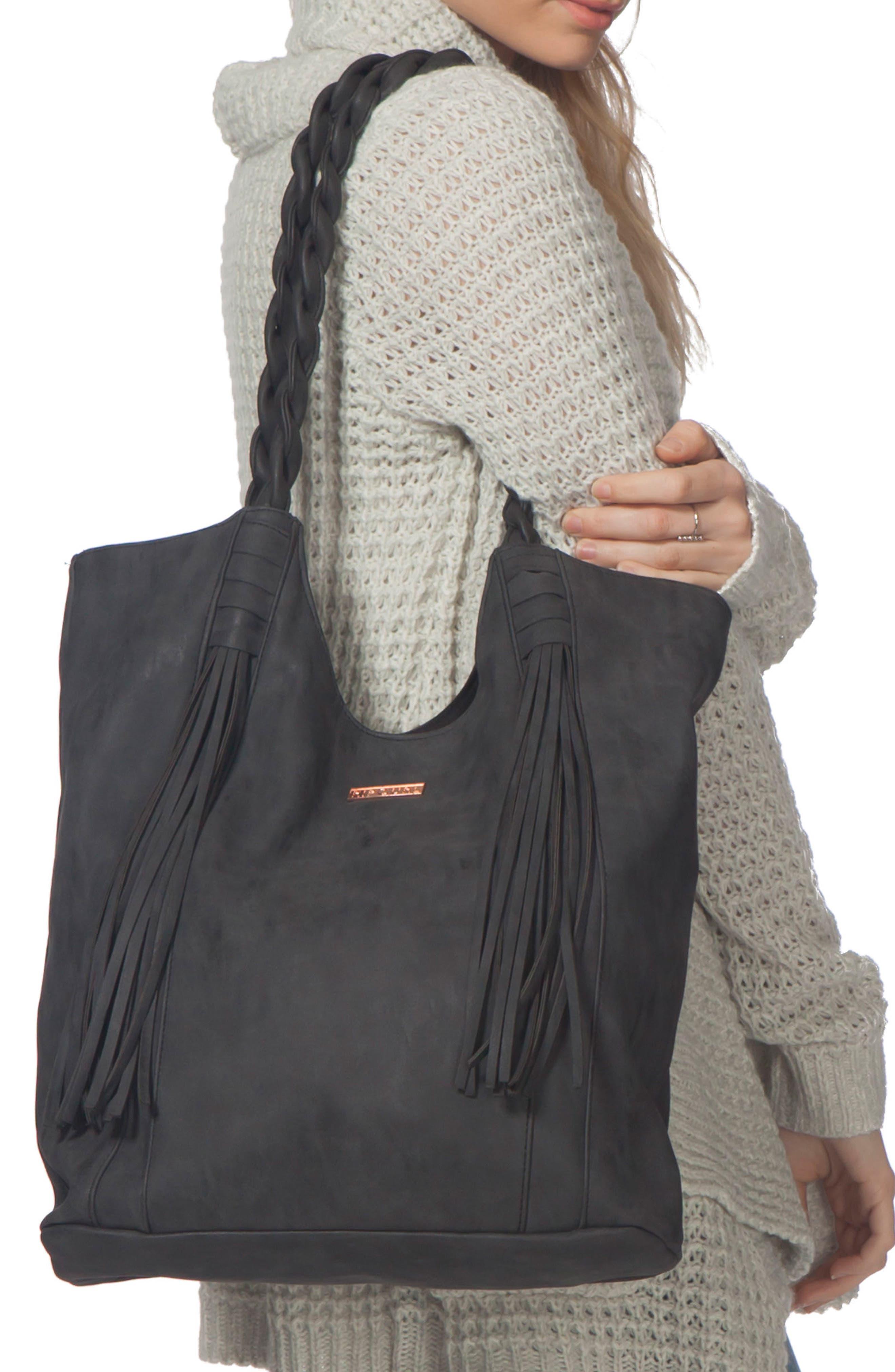 Arizona Faux Leather Shoulder Bag,                         Main,                         color,