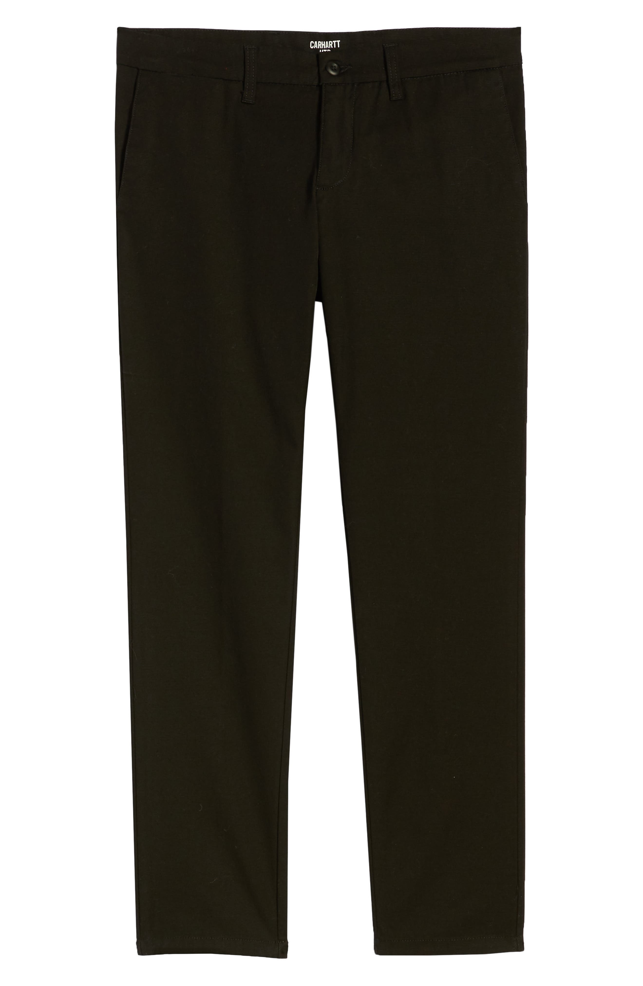 Sid Slim Fit Chinos,                             Alternate thumbnail 6, color,                             001