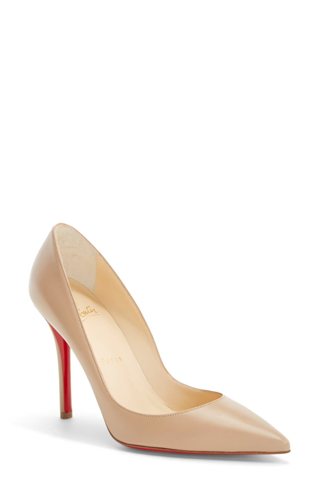 'Apostrophy' Pointy Toe Pump,                             Main thumbnail 1, color,