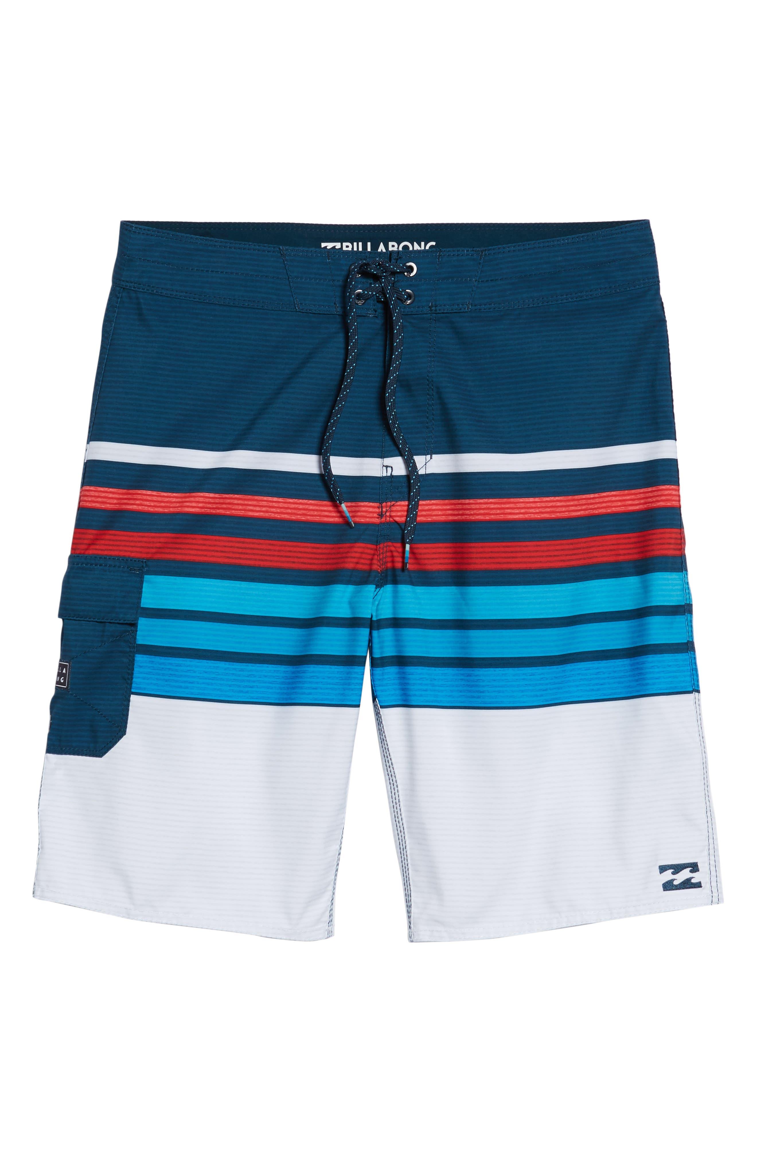 All Day OG Stripe Board Shorts,                             Alternate thumbnail 17, color,