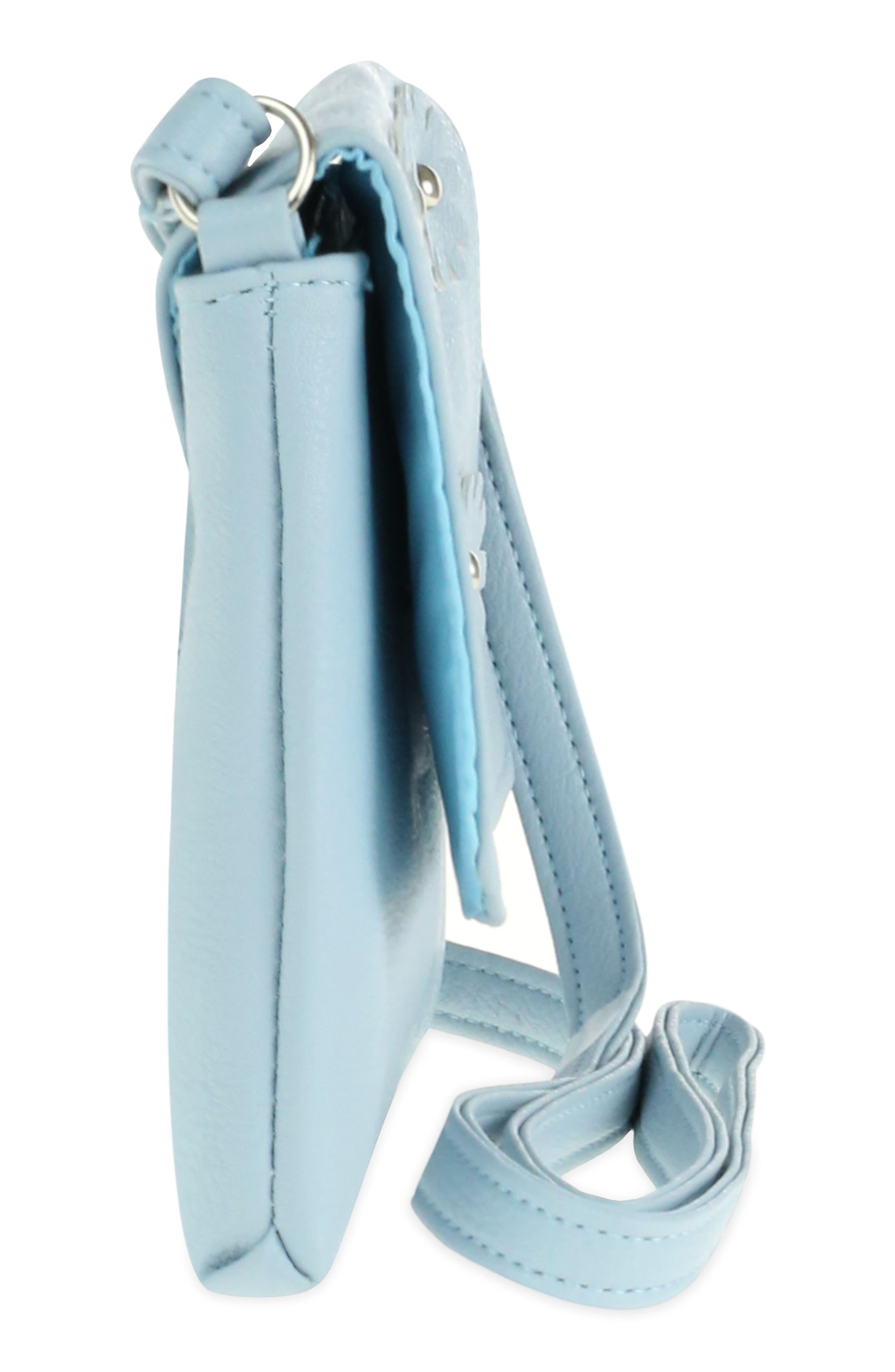 3D Flower Embellished Crossbody Bag,                             Alternate thumbnail 4, color,