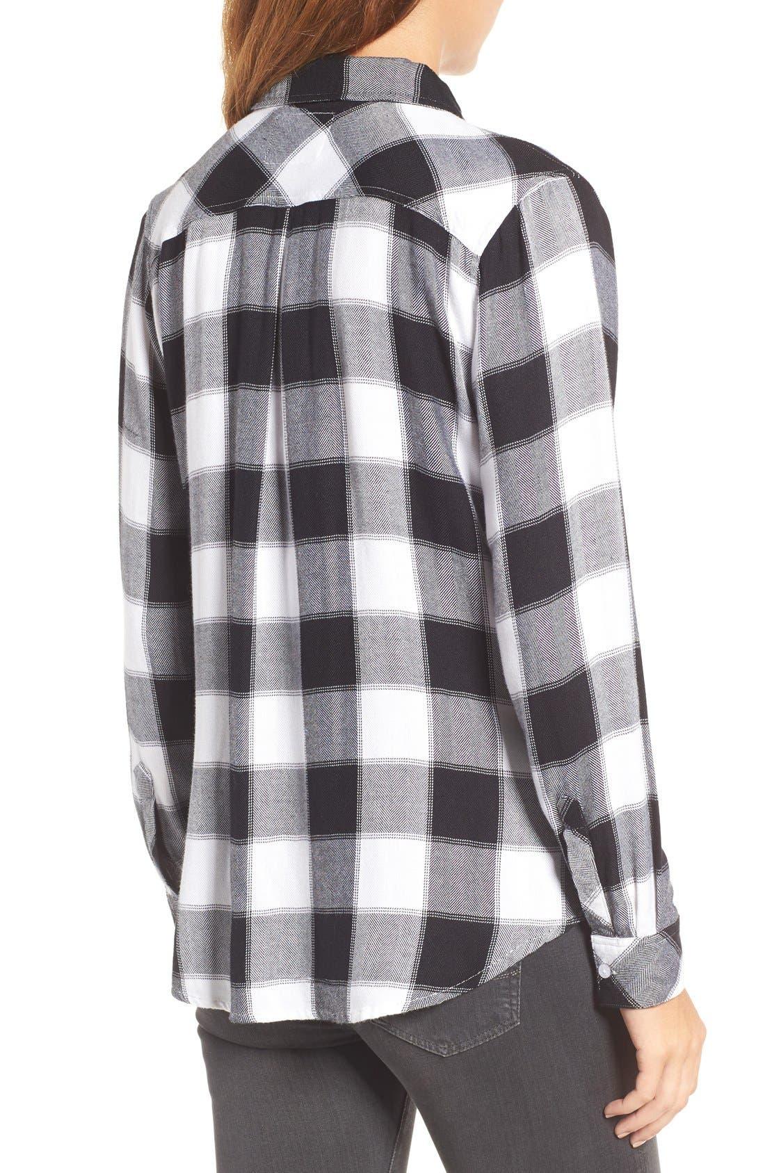 Hunter Plaid Shirt,                             Alternate thumbnail 505, color,