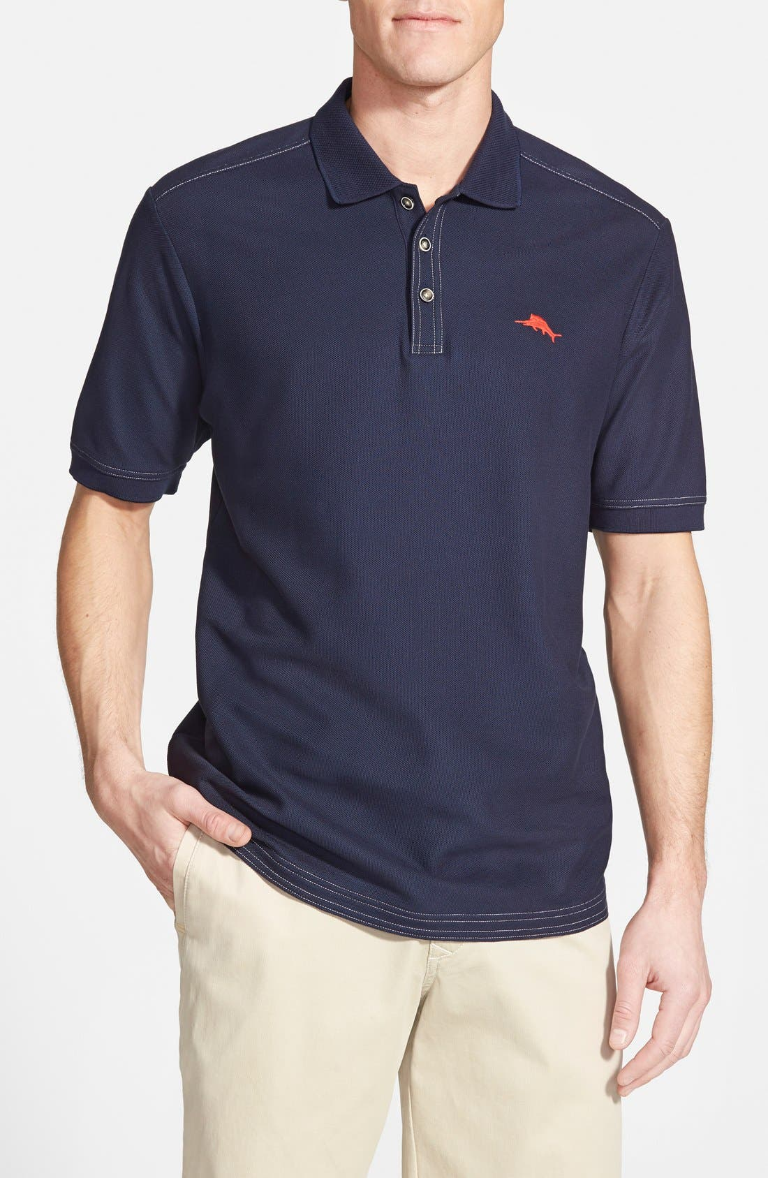'The Emfielder' Original Fit Piqué Polo,                             Main thumbnail 14, color,
