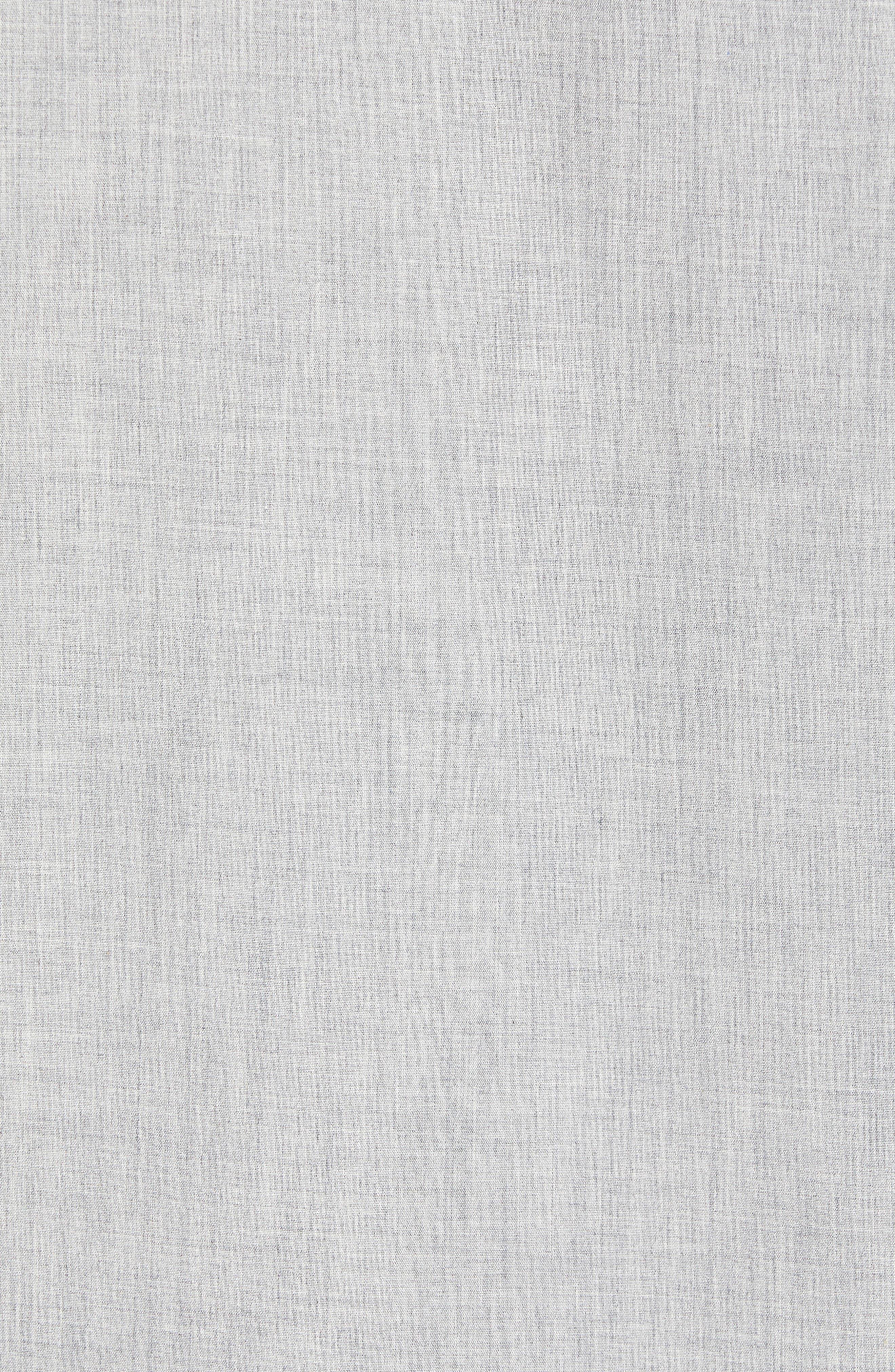 Trim Fit Slash Pocket Sport Shirt,                             Alternate thumbnail 5, color,                             050