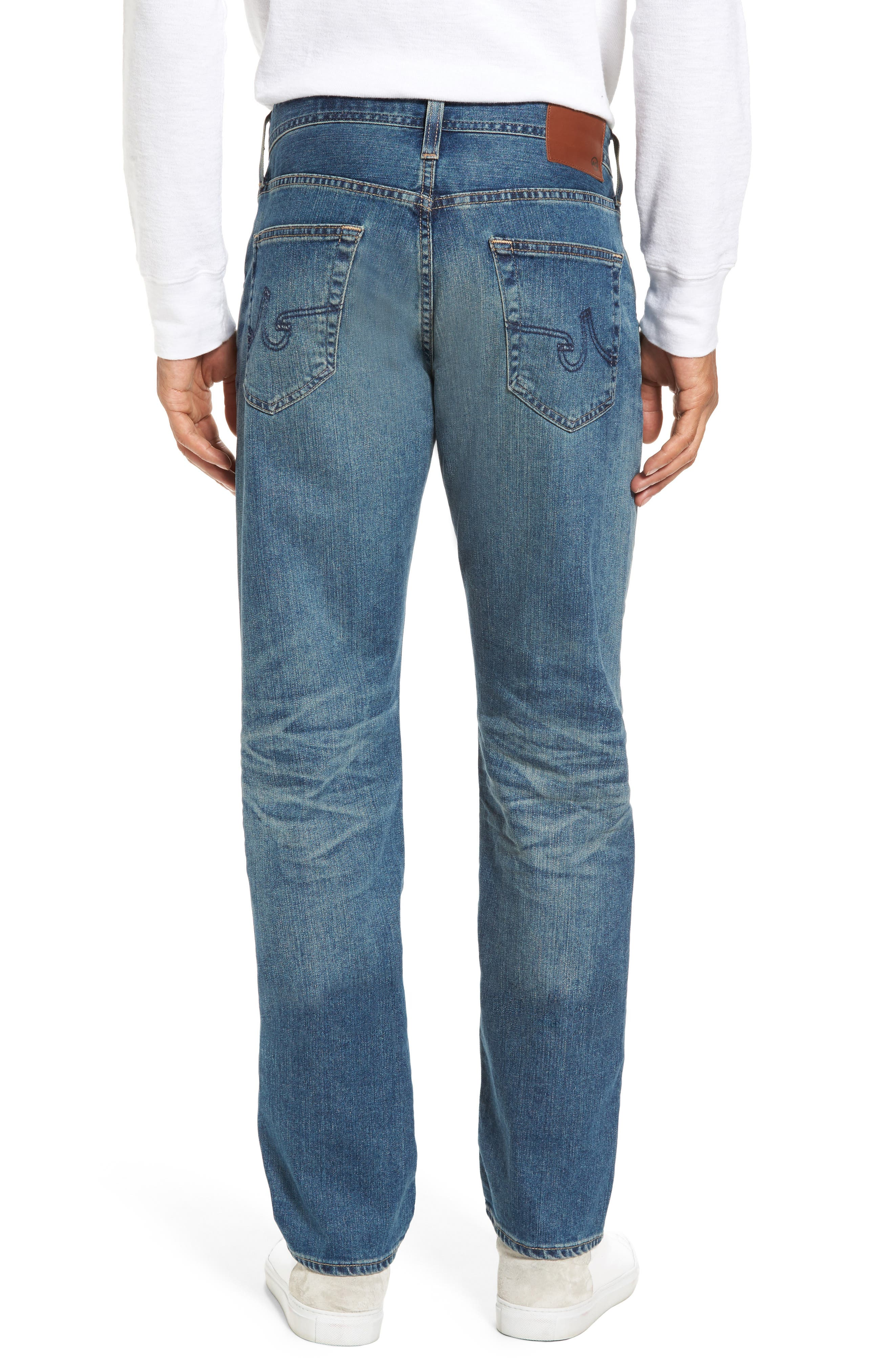 Graduate Slim Straight Leg Jeans,                             Alternate thumbnail 2, color,                             430
