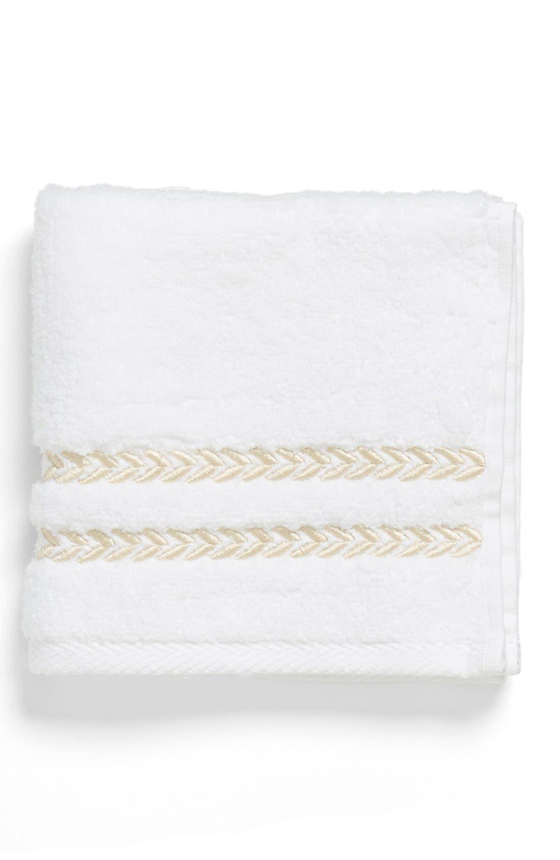 'Pearl Essence' Wash Towel,                             Main thumbnail 1, color,                             101