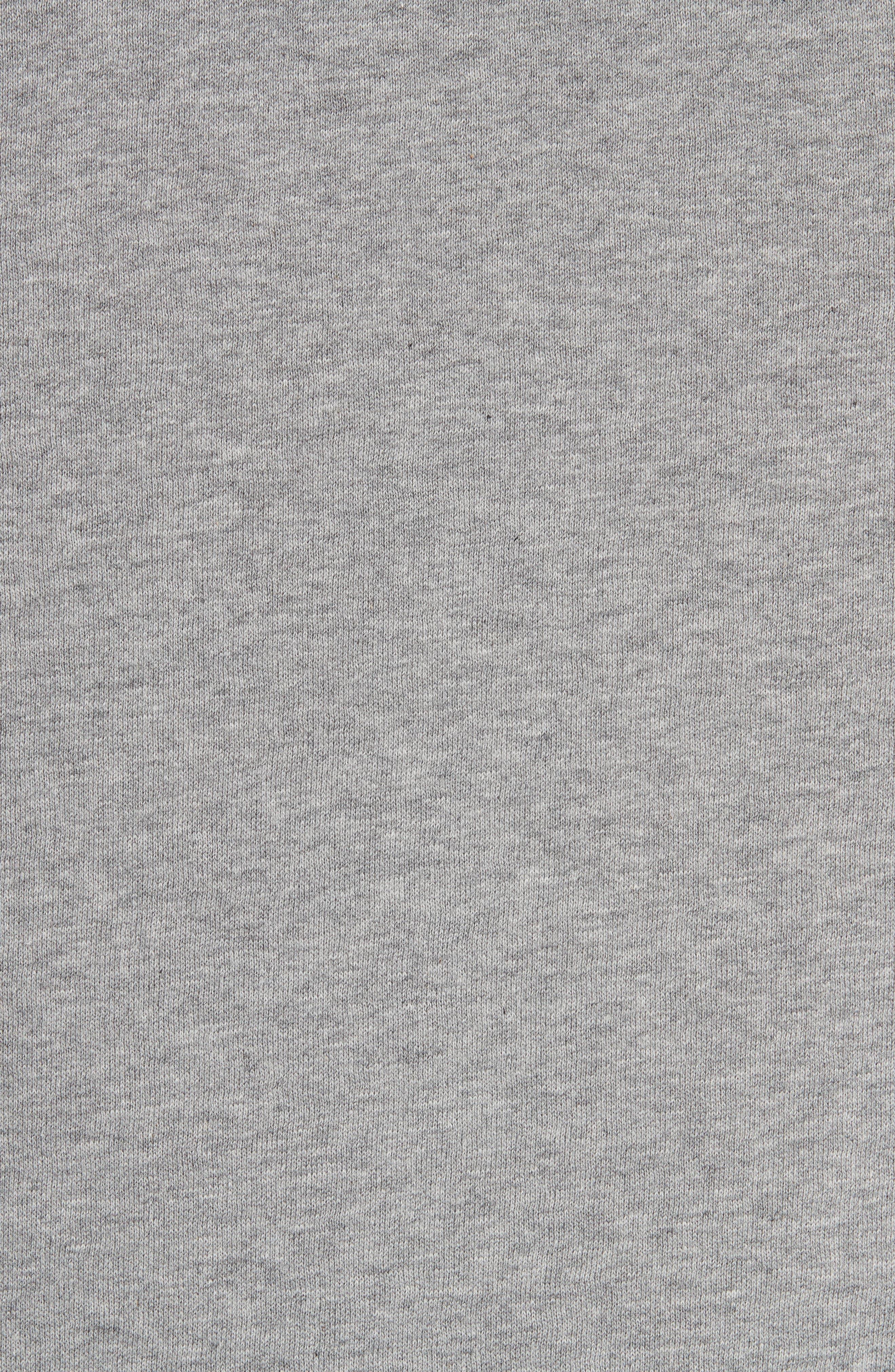 Battarni City Logo Sweatshirt,                             Alternate thumbnail 5, color,                             PALE GREY MELANGE