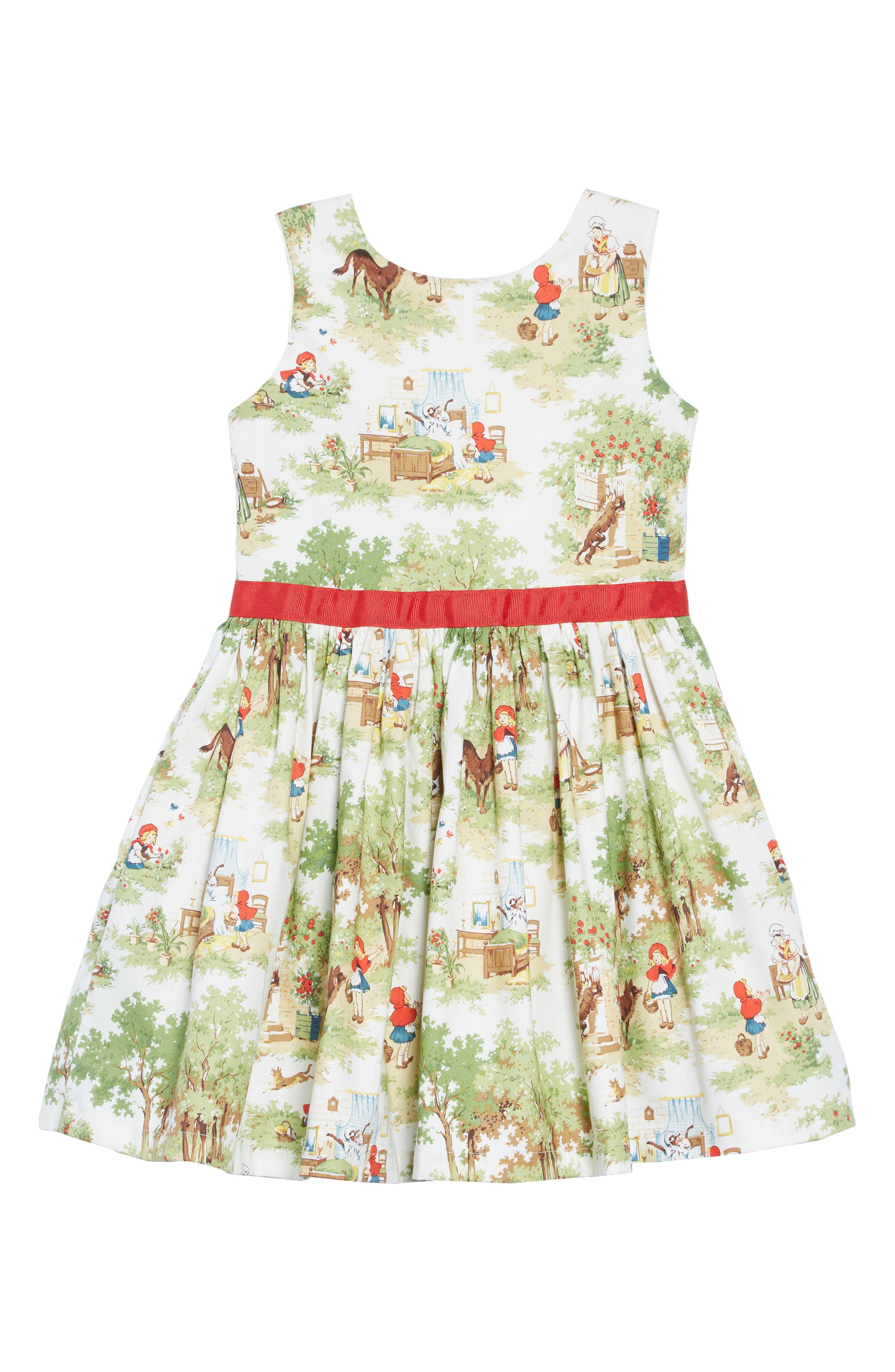 Fit & Flare Dress,                             Main thumbnail 1, color,                             IVORY