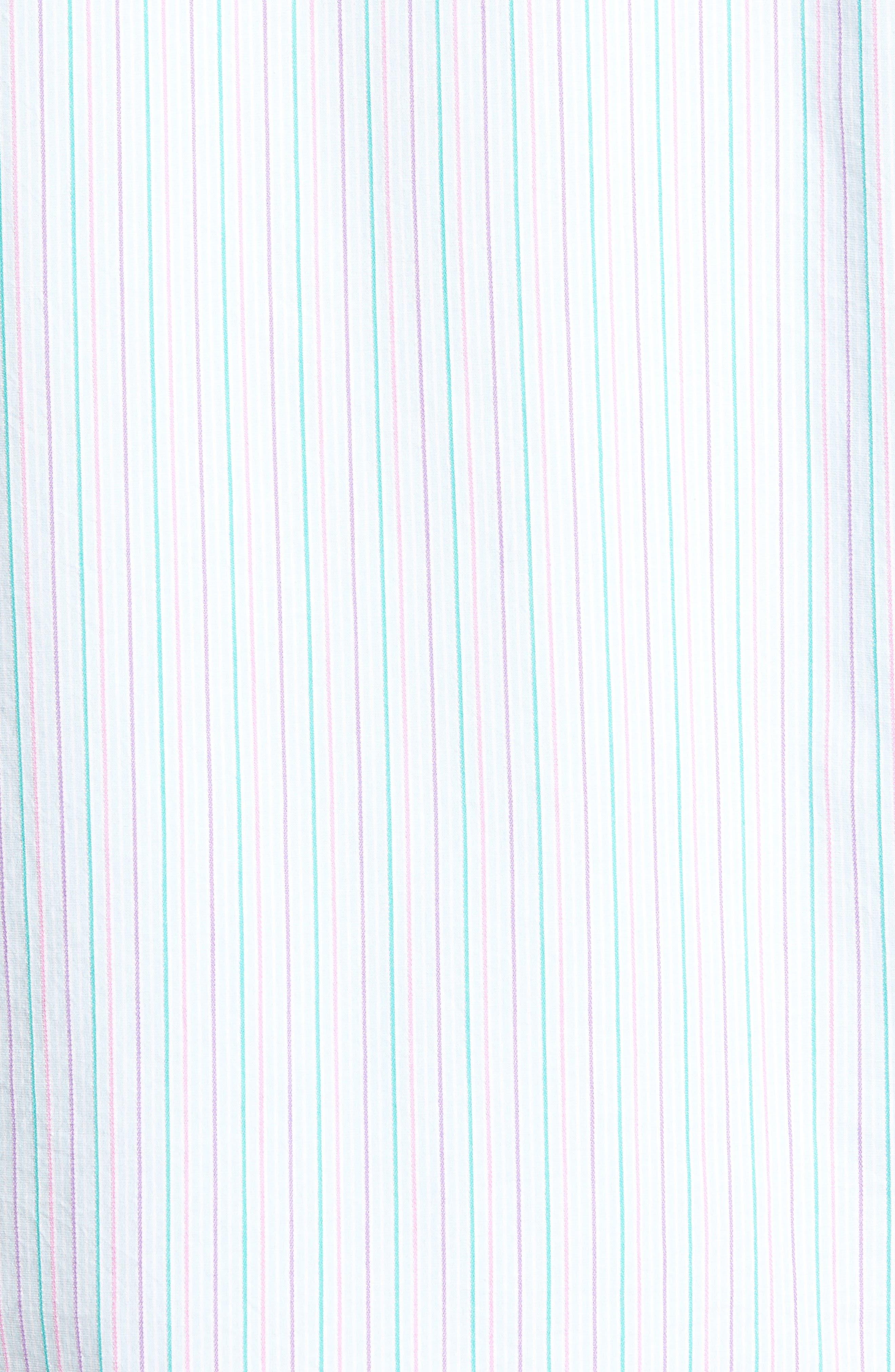 Tallahassee Cotton & Silk Blend Sport Shirt,                             Alternate thumbnail 5, color,                             400