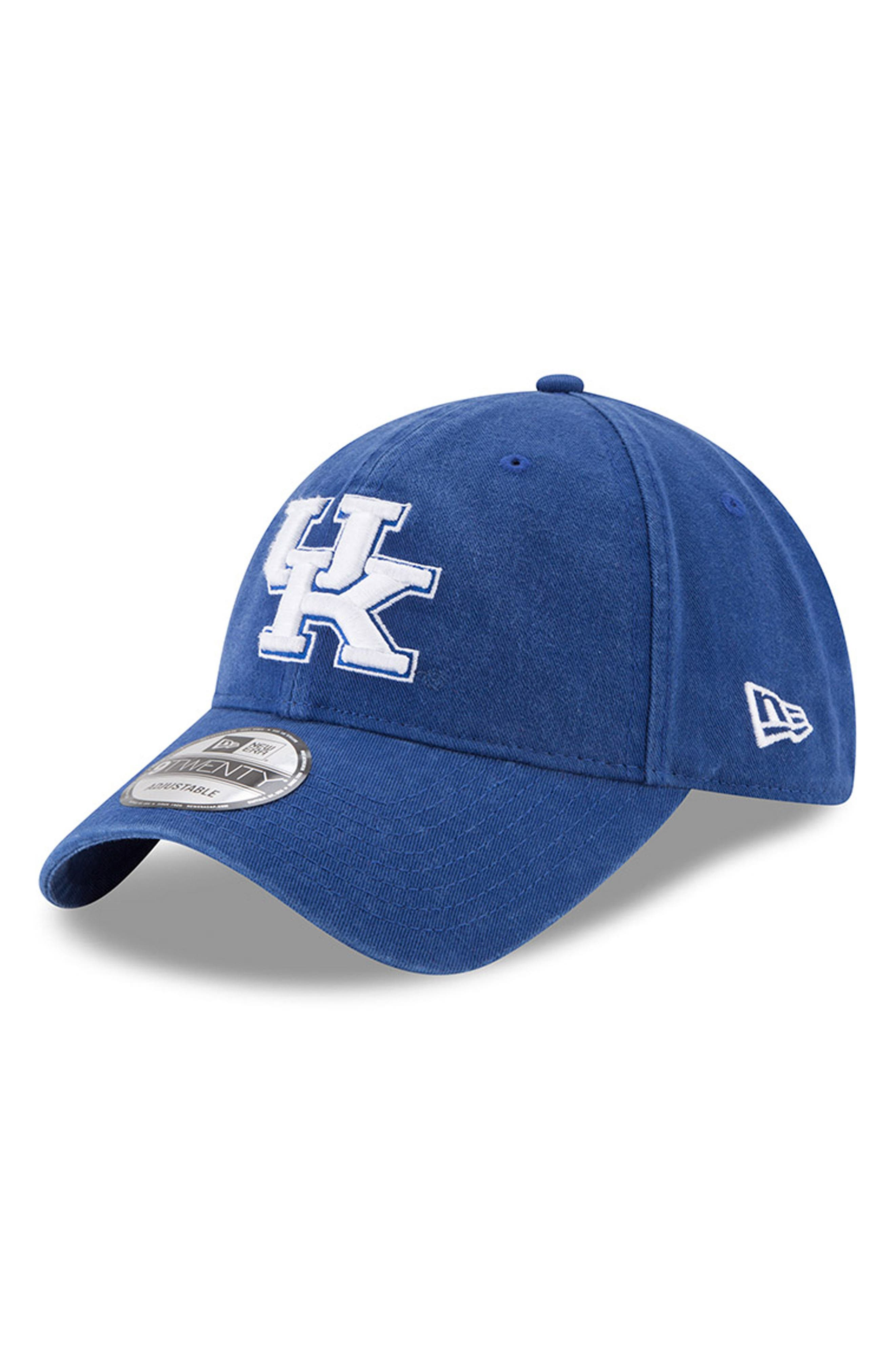 New Era Collegiate Core Classic - Kentucky Wildcats Baseball Cap,                             Main thumbnail 1, color,