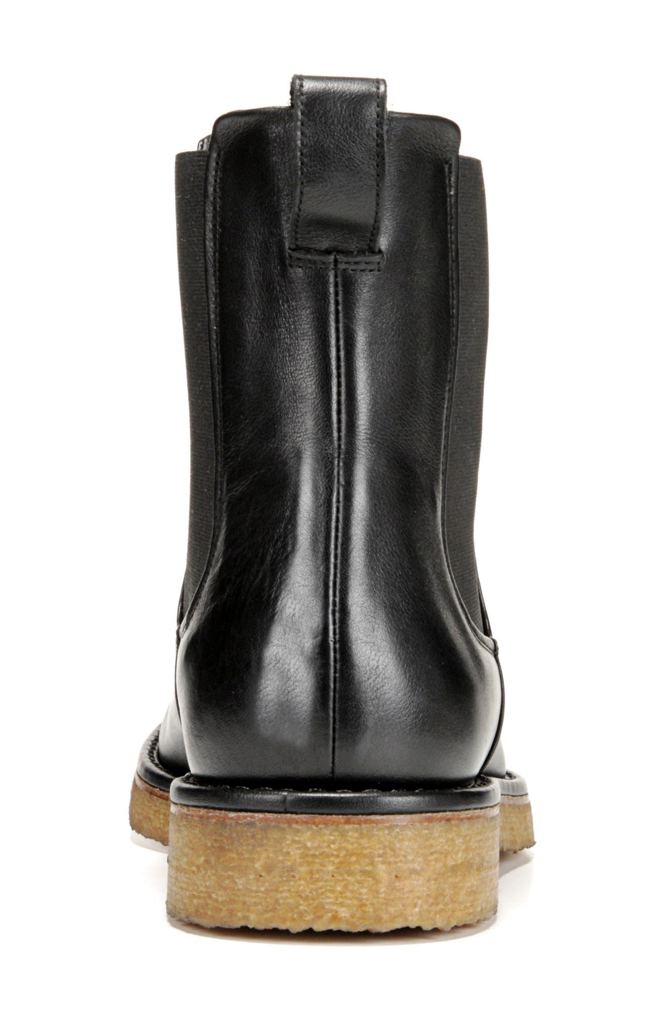 Cresslor Chelsea Boot,                             Alternate thumbnail 9, color,                             BLACK
