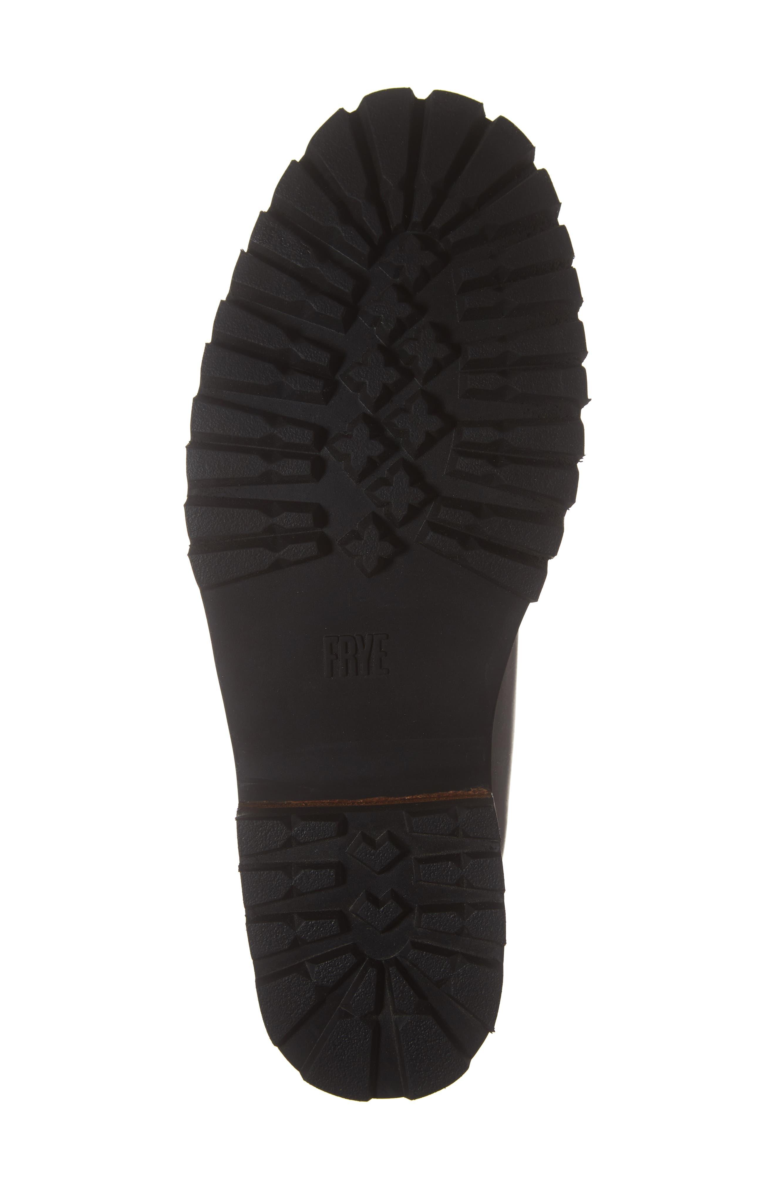 Union Plain Toe Boot,                             Alternate thumbnail 6, color,                             DARK BROWN