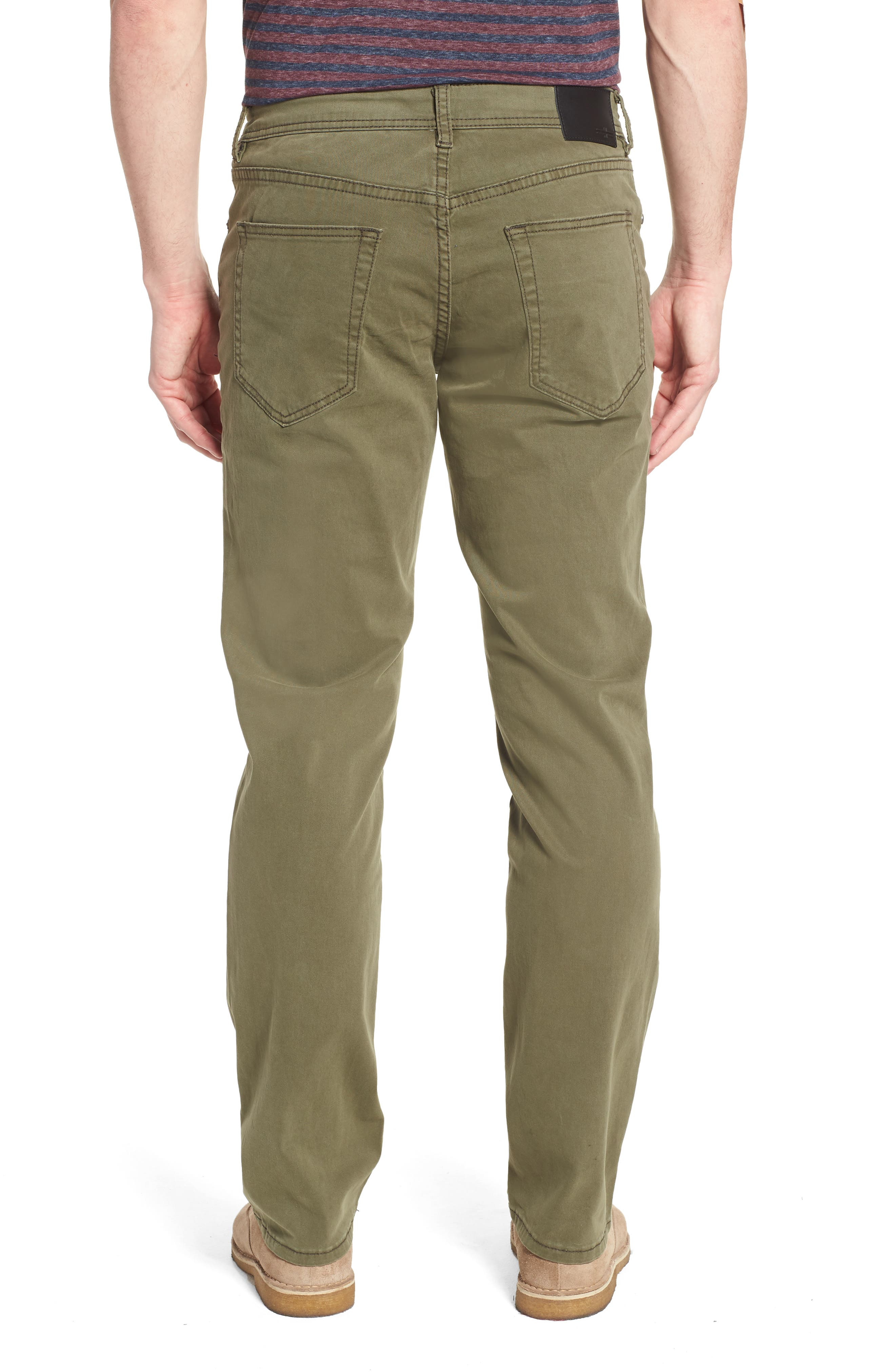 Jeans Co. Regent Relaxed Fit Jeans,                             Alternate thumbnail 2, color,                             OLIVE NIGHT