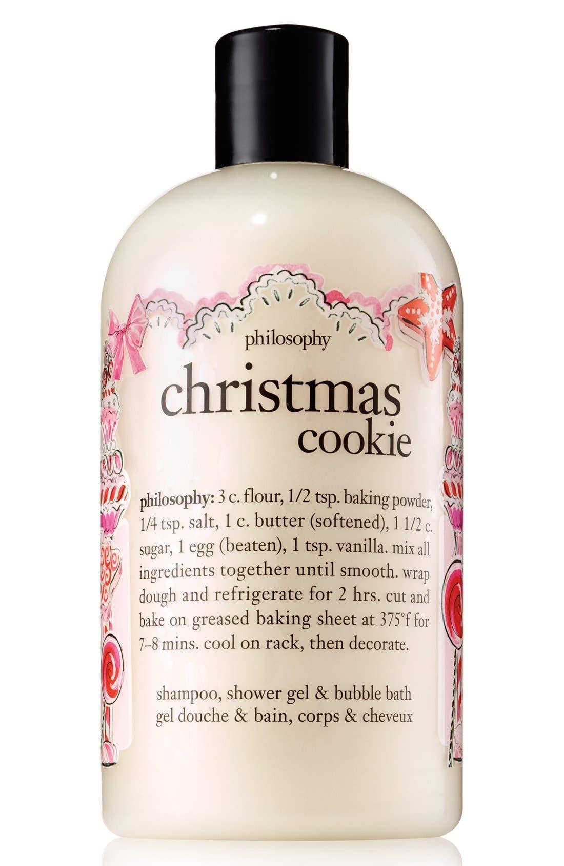 'christmas cookie' shampoo, shower gel & bubble bath,                         Main,                         color,