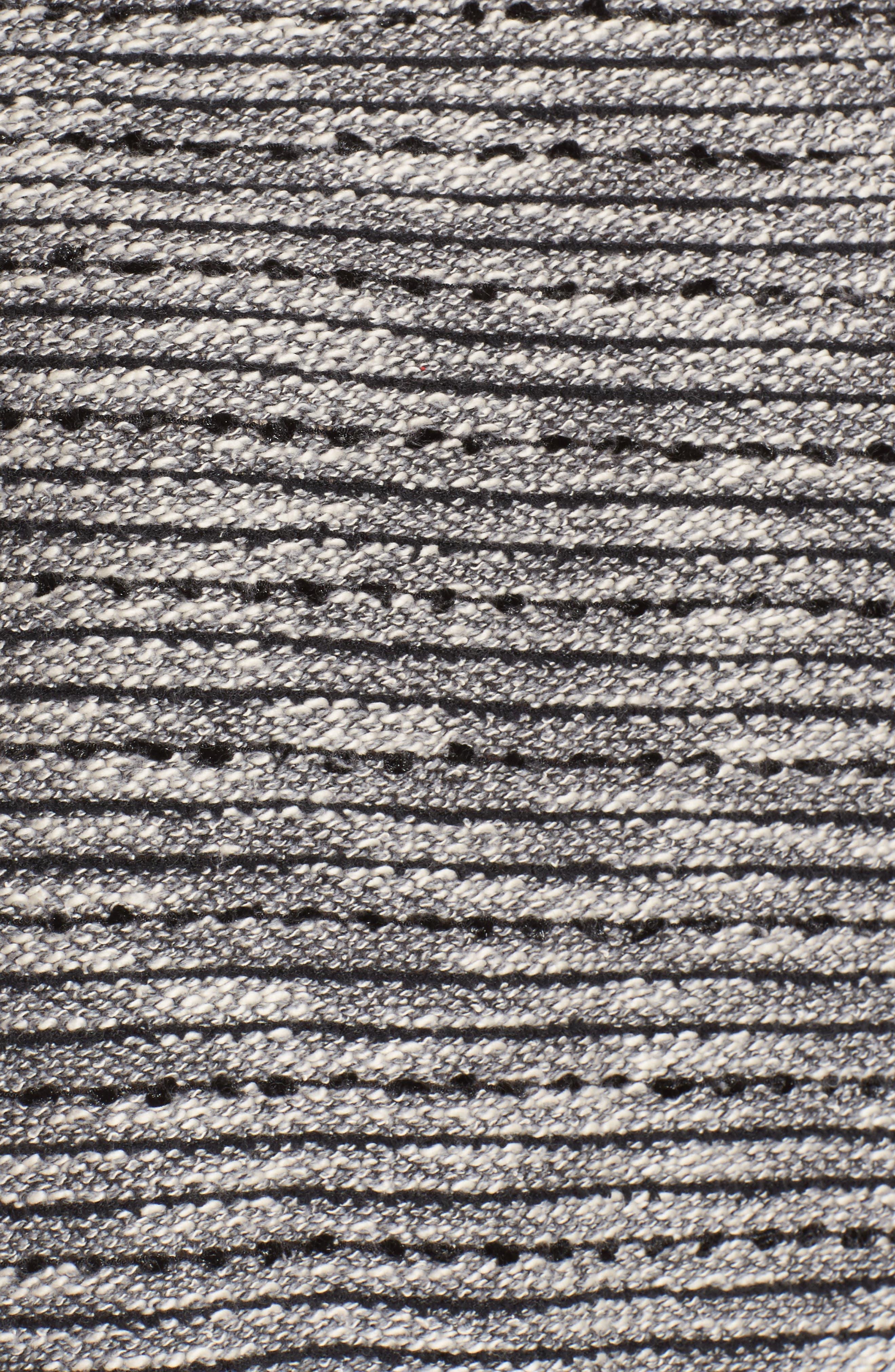 Zip Pocket Slubby Knit Top,                             Alternate thumbnail 5, color,                             006