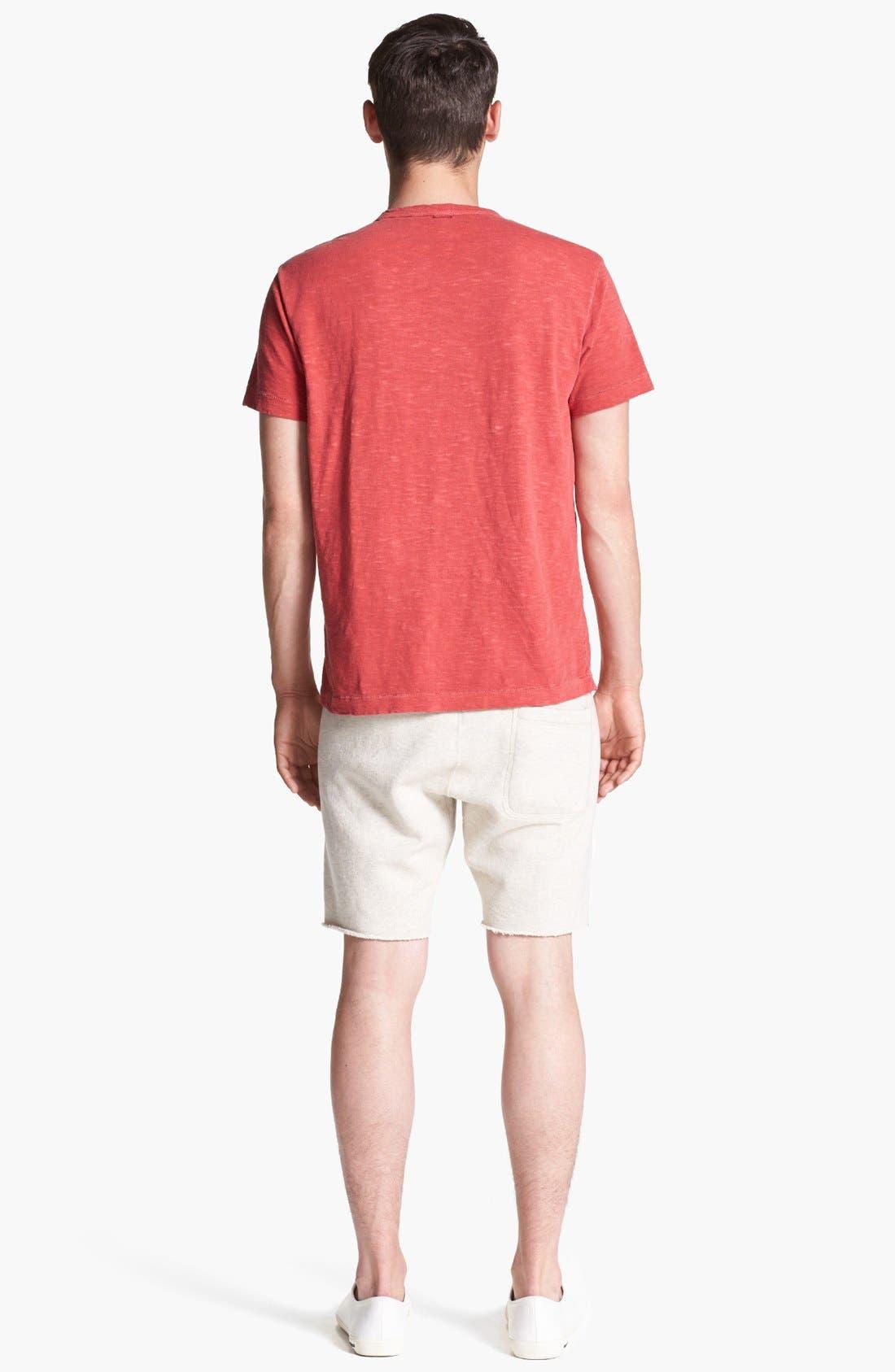 Knit Cotton Shorts,                             Alternate thumbnail 6, color,