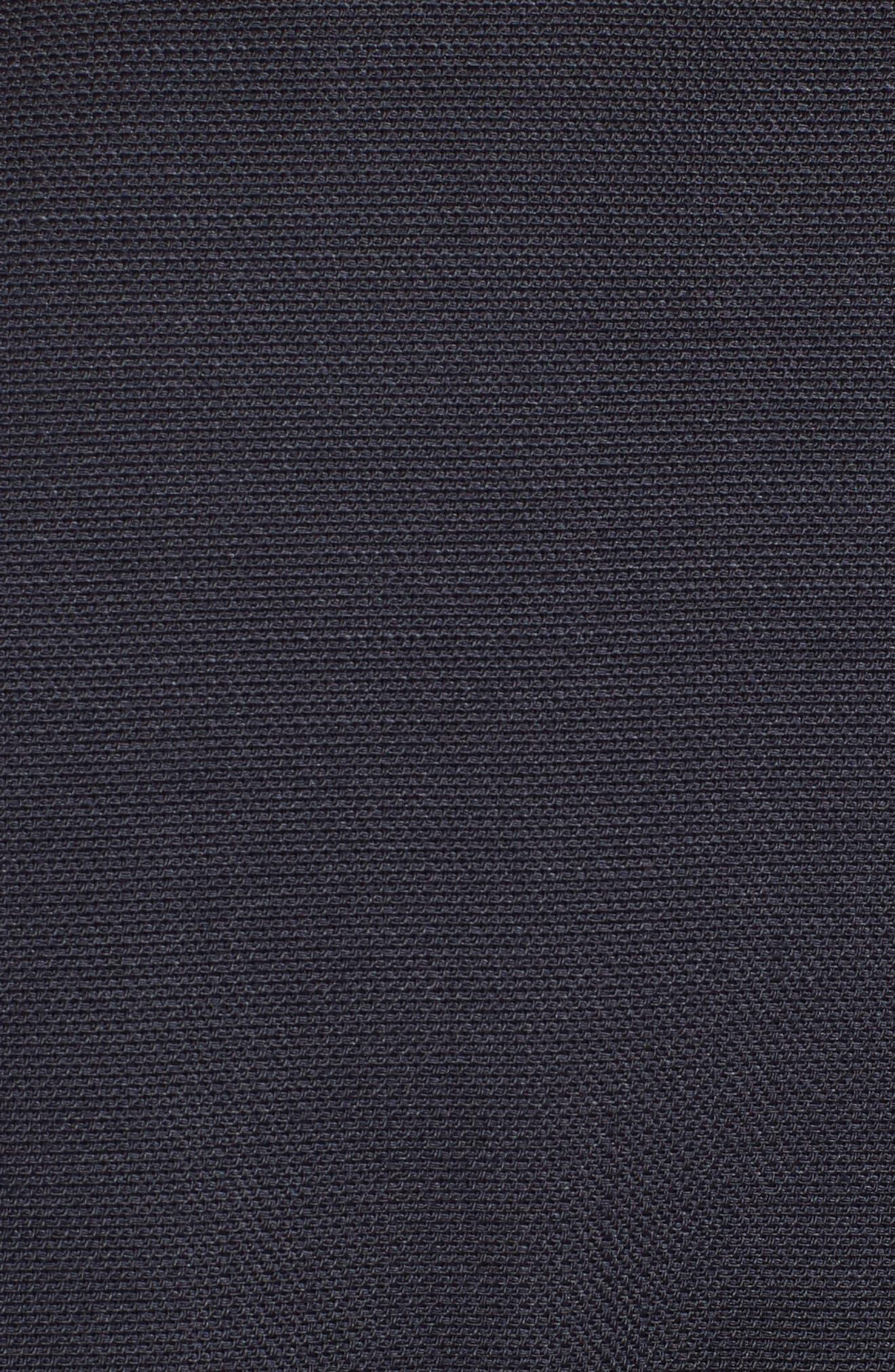 Belted Wide Leg Jumpsuit,                             Alternate thumbnail 5, color,