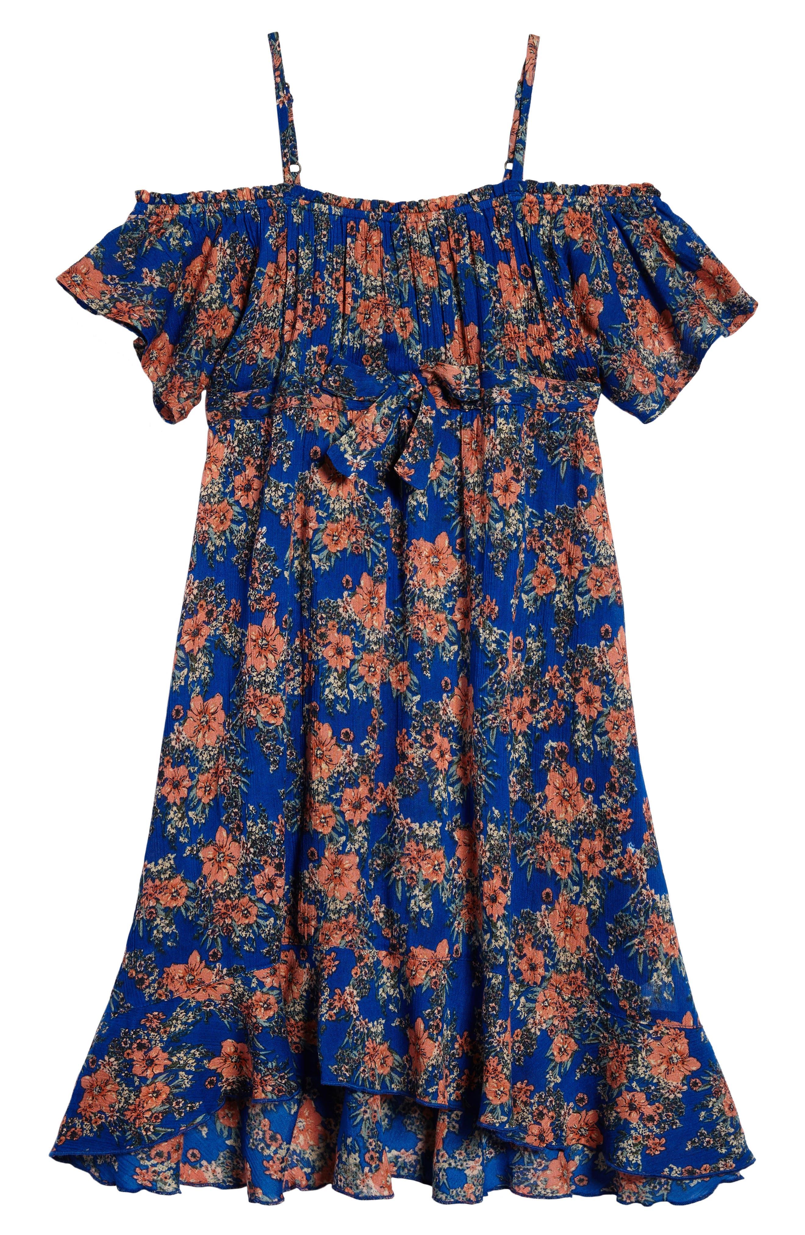 Jackie Off the Shoulder Dress,                         Main,                         color, 400