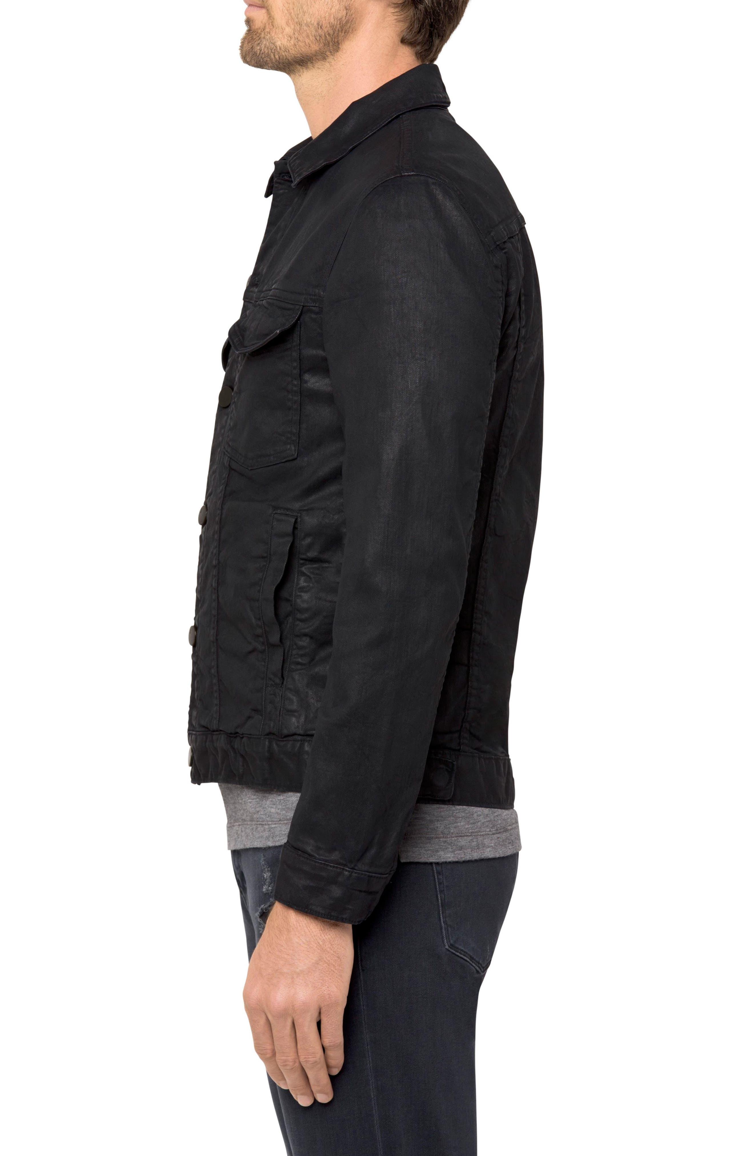 Gorn Denim Jacket,                             Alternate thumbnail 3, color,                             001