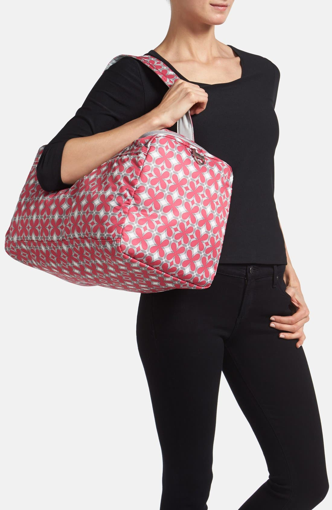 'Starlet' Travel Diaper Bag,                             Alternate thumbnail 10, color,