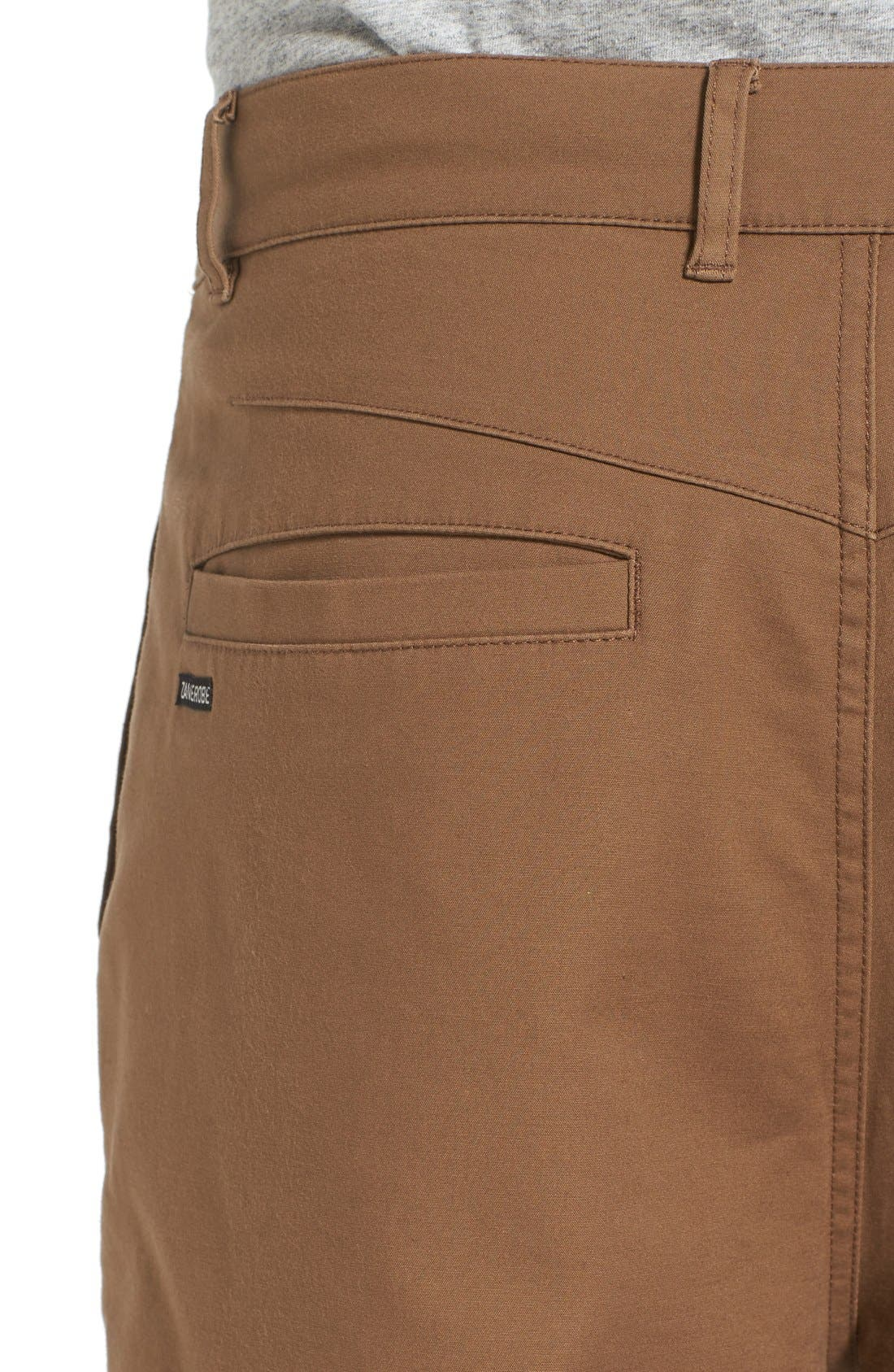 'Sharpshot' Slouchy Skinny Fit Chinos,                             Alternate thumbnail 19, color,