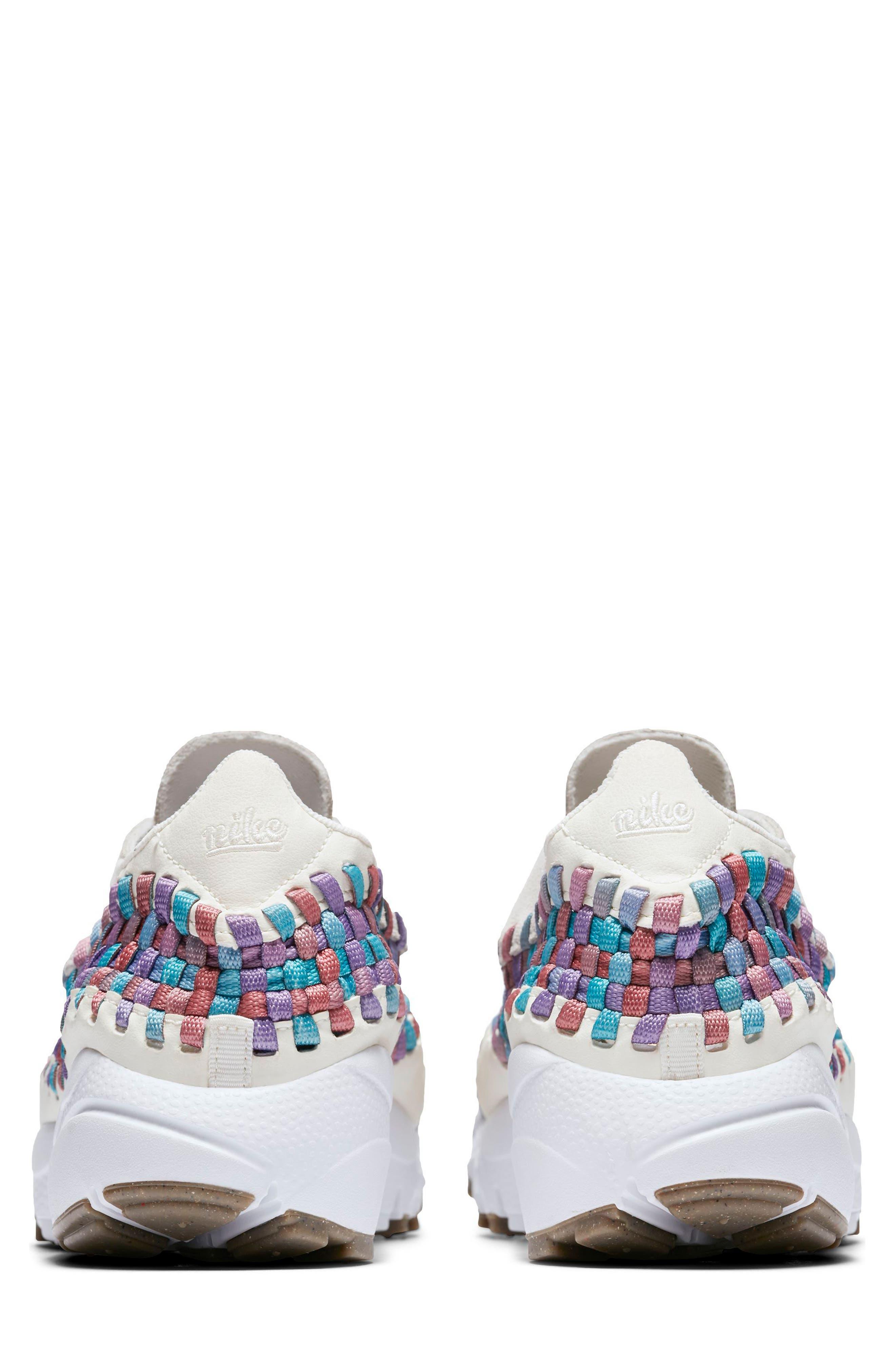 Air Footscape Woven Sneaker,                             Alternate thumbnail 6, color,