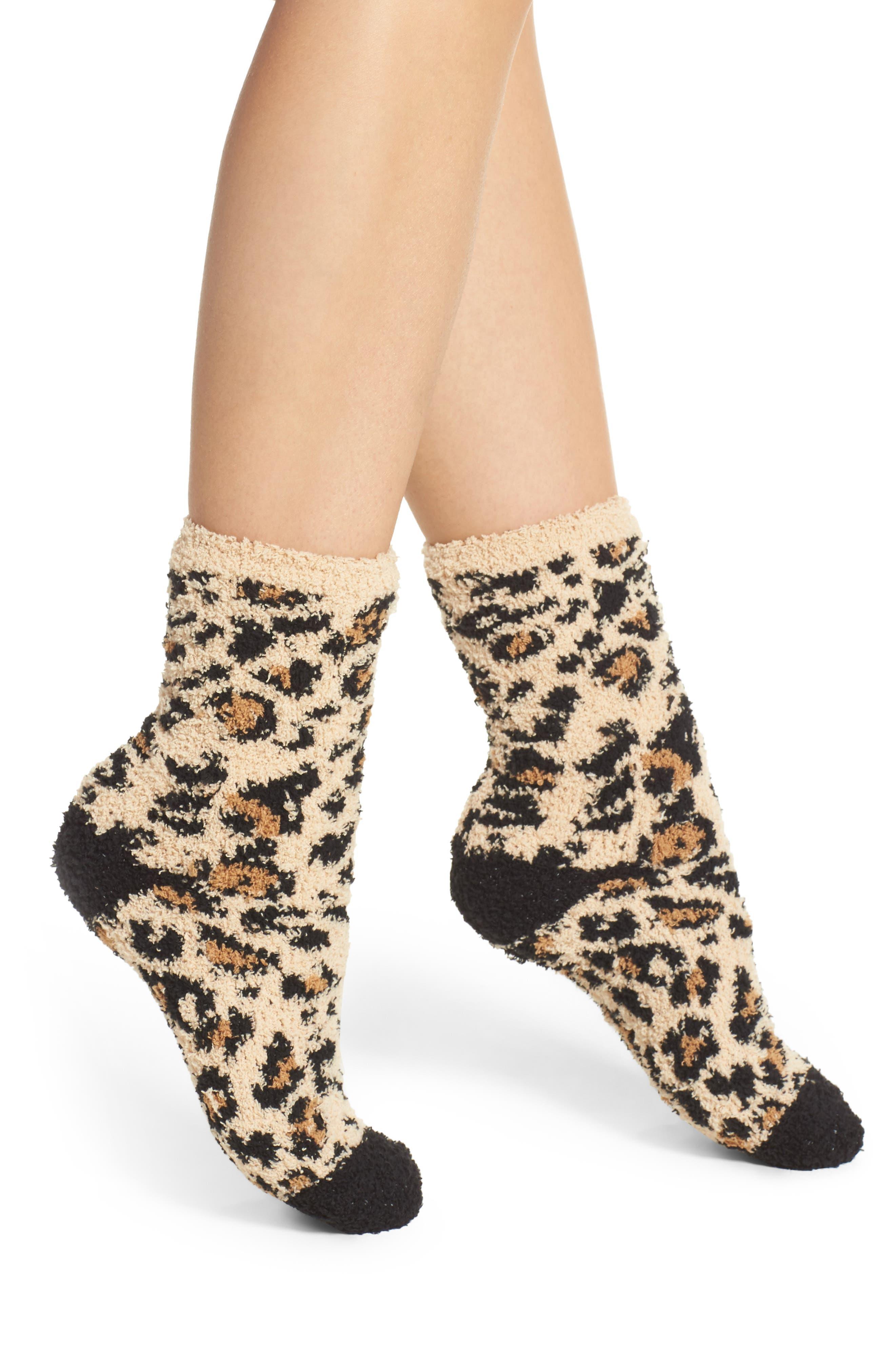 Plush Socks,                         Main,                         color,
