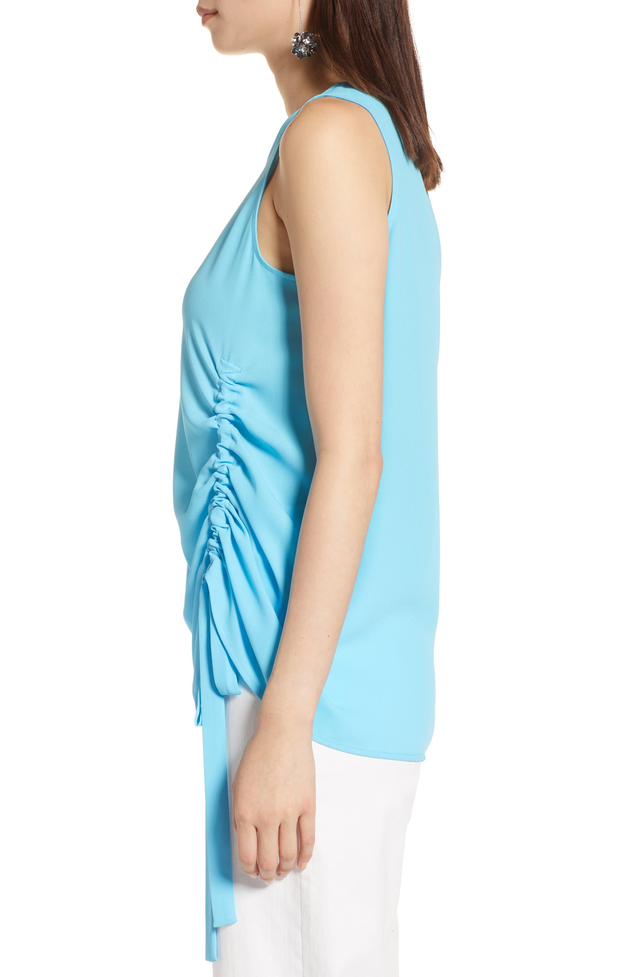 Side Ruched Top,                             Alternate thumbnail 13, color,