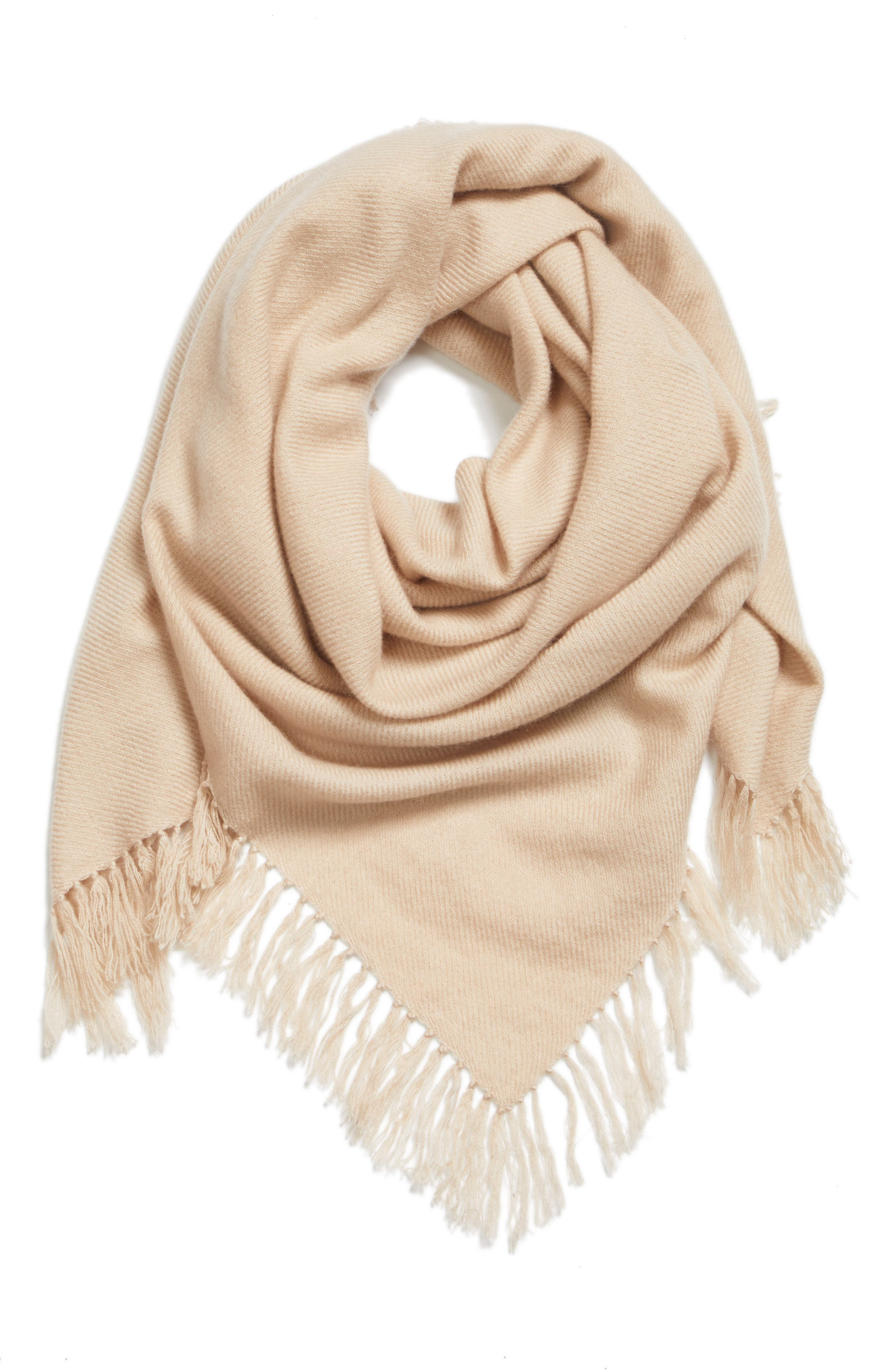 Zila Cashmere & Wool Scarf,                             Alternate thumbnail 3, color,                             900