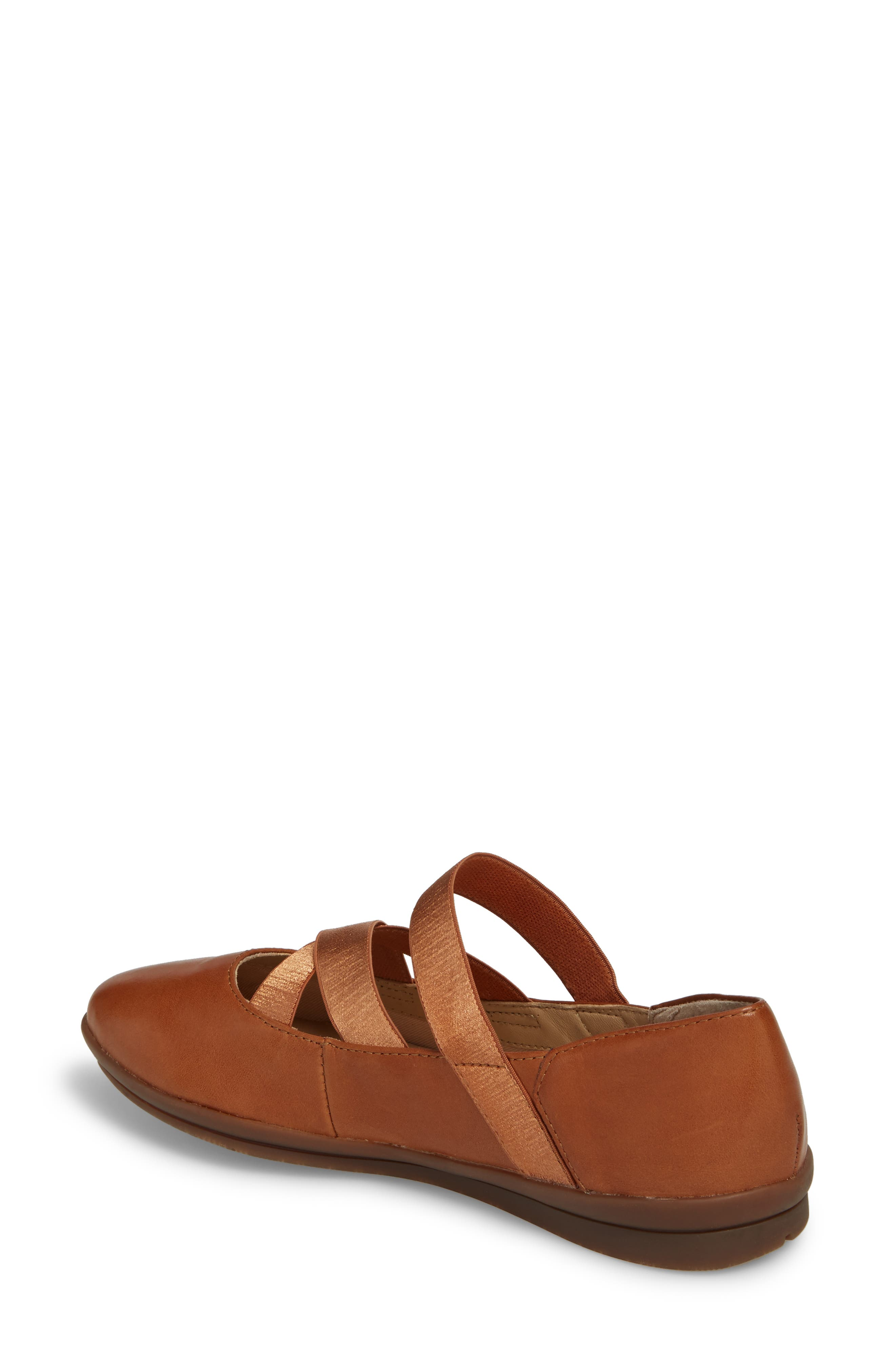 Meree Madrine Cross Strap Flat,                             Alternate thumbnail 6, color,