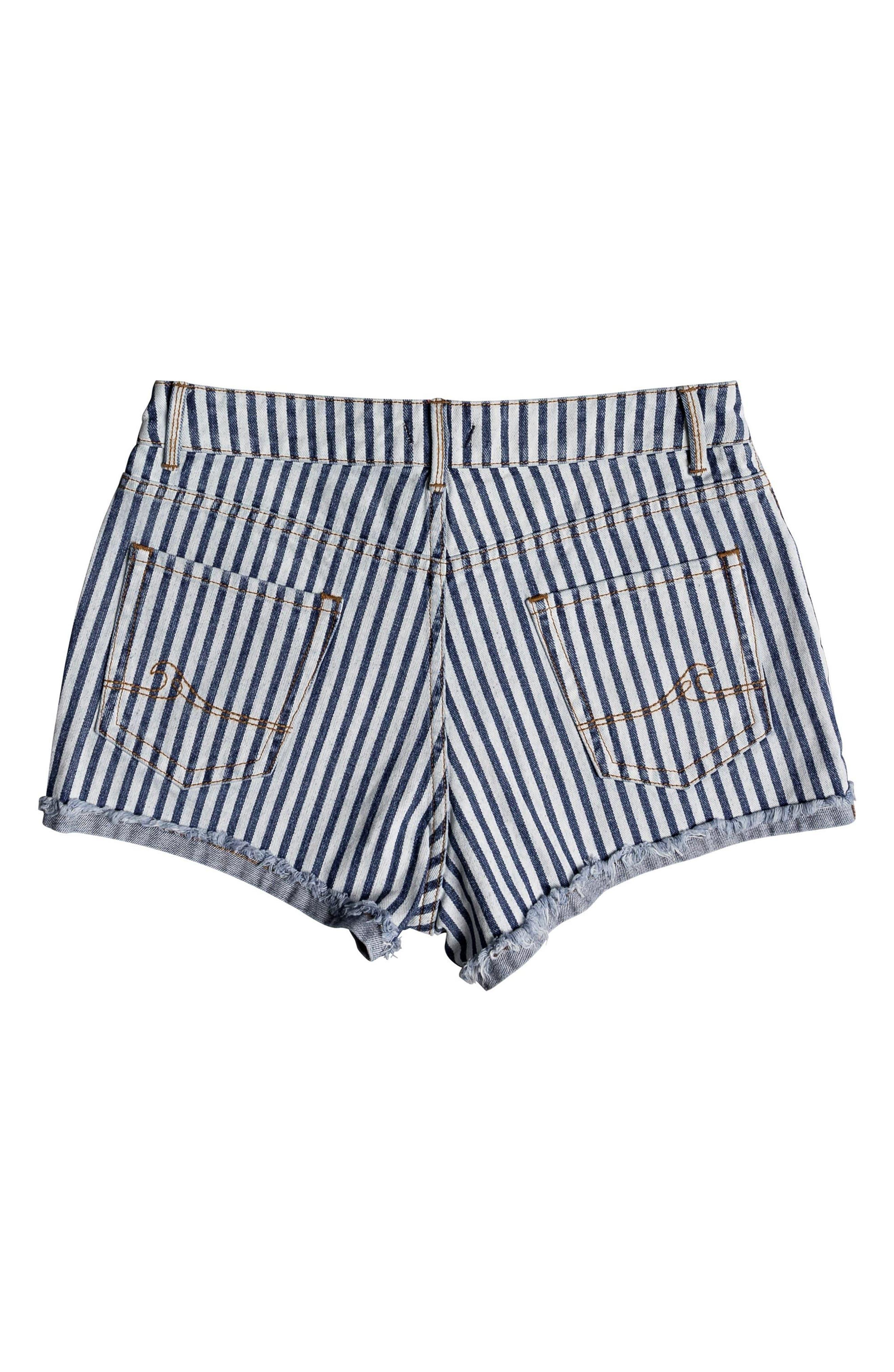 Holbrook Stripe Cotton Shorts,                             Alternate thumbnail 5, color,                             460