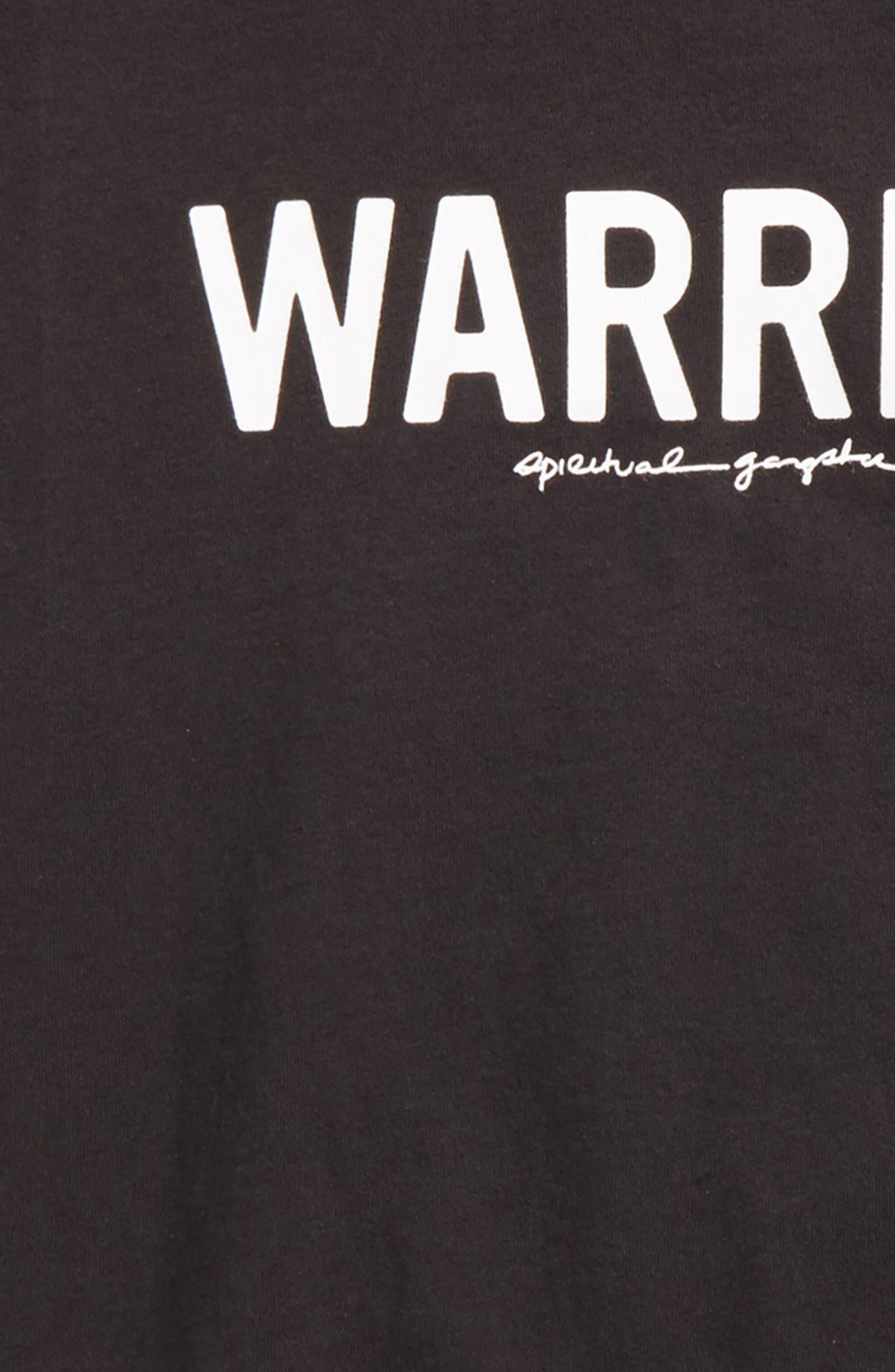 Varsity Warrior Graphic T-Shirt,                             Alternate thumbnail 2, color,