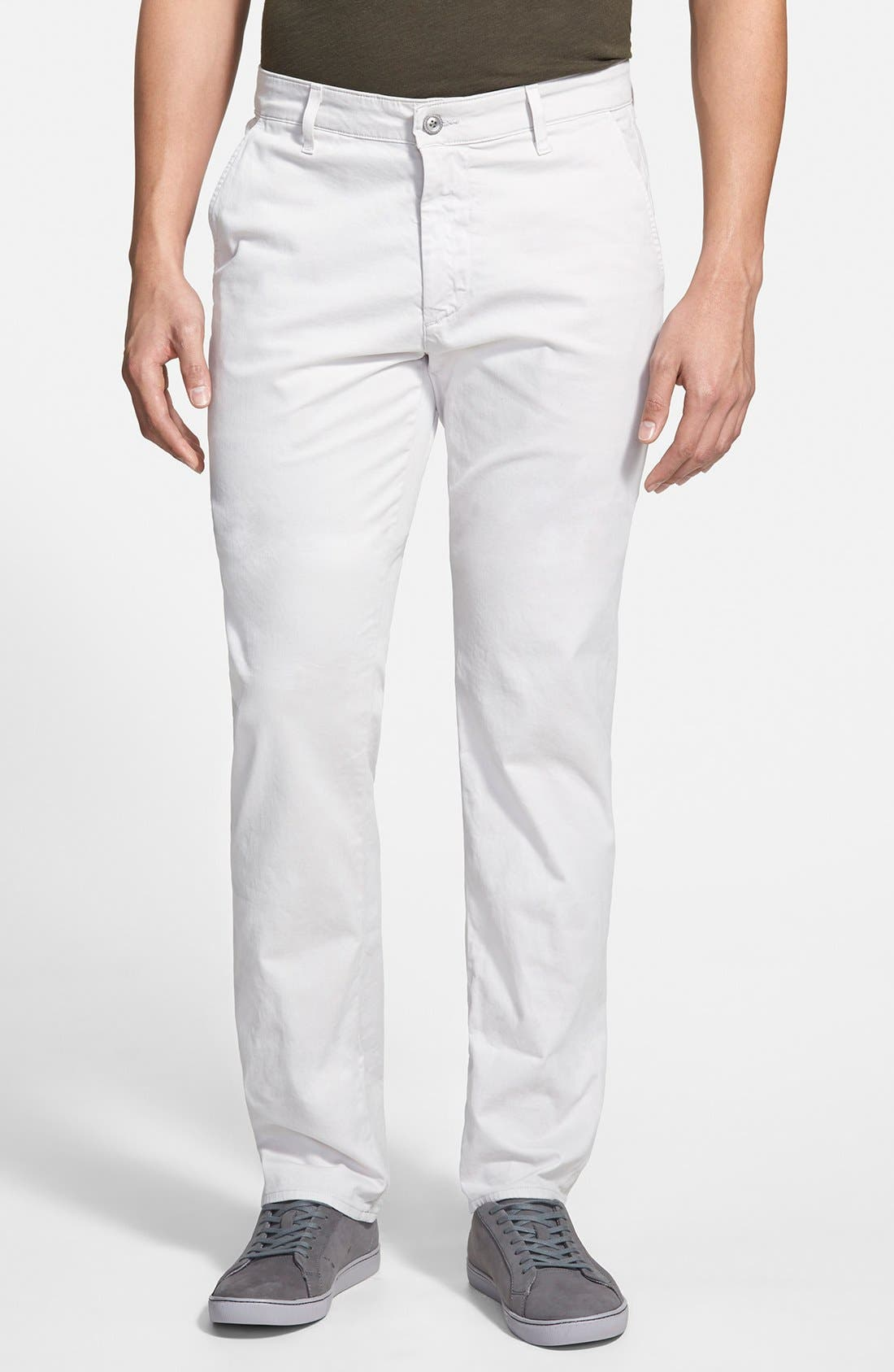 'The Lux' Tailored Straight Leg Chinos,                             Main thumbnail 1, color,                             060