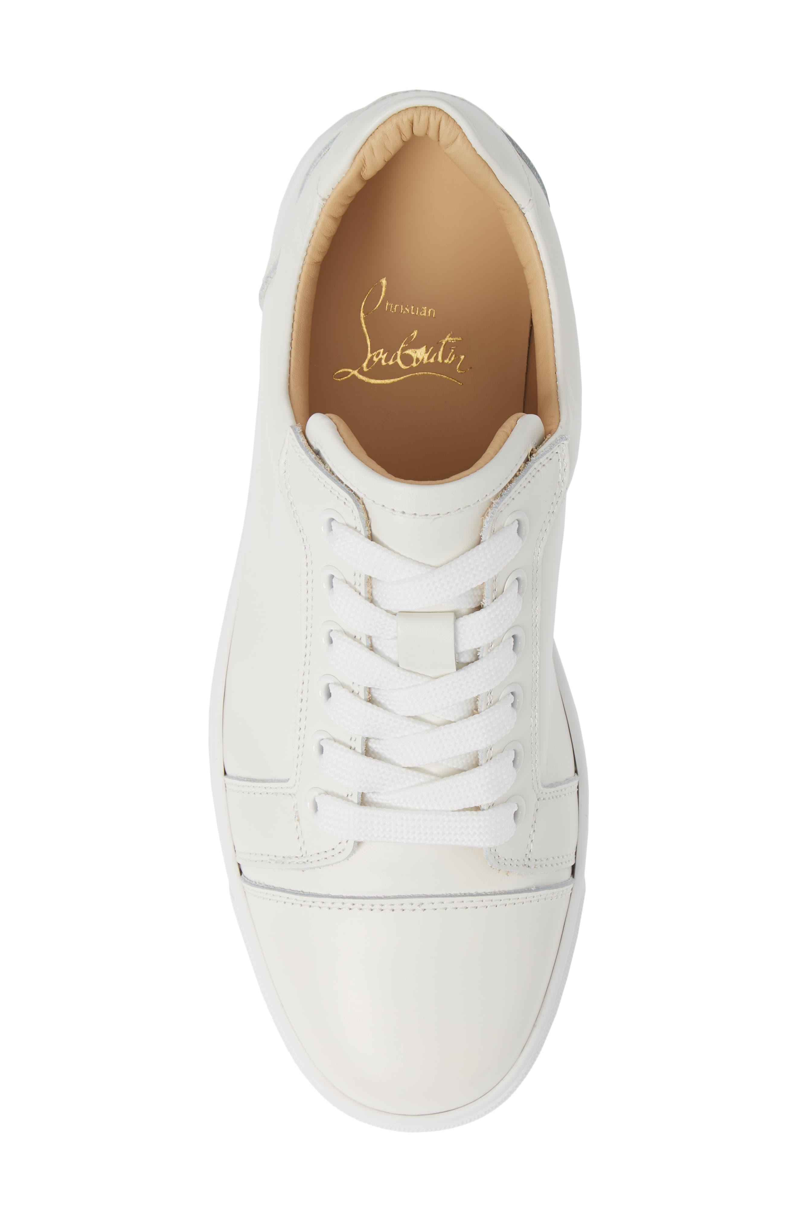 Veira Lace-Up Sneaker,                             Alternate thumbnail 5, color,                             SNOW WHITE