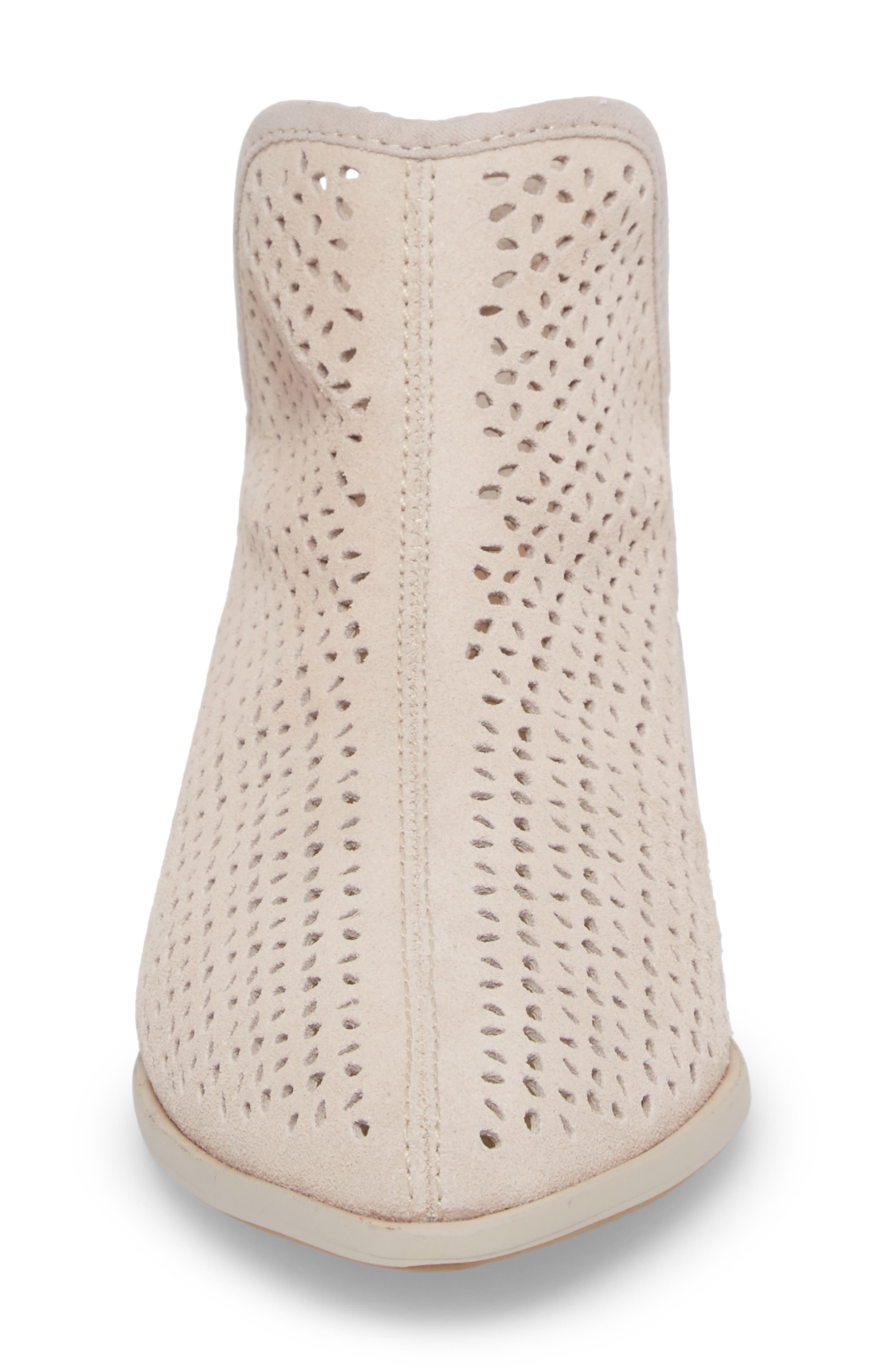 Alley Perforated Bootie,                             Alternate thumbnail 4, color,                             WHEAT