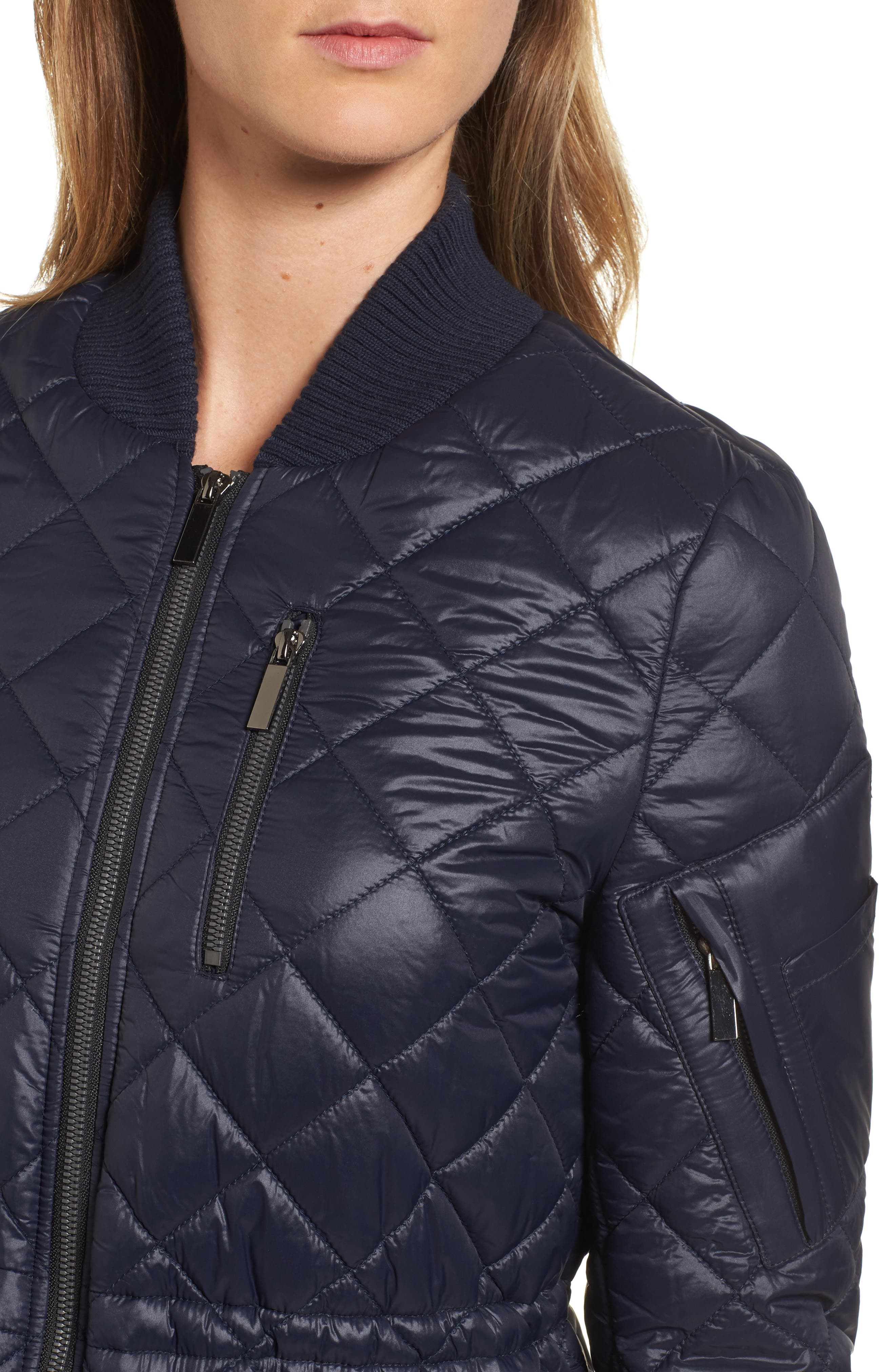 Quilted Anorak Jacket,                             Alternate thumbnail 12, color,